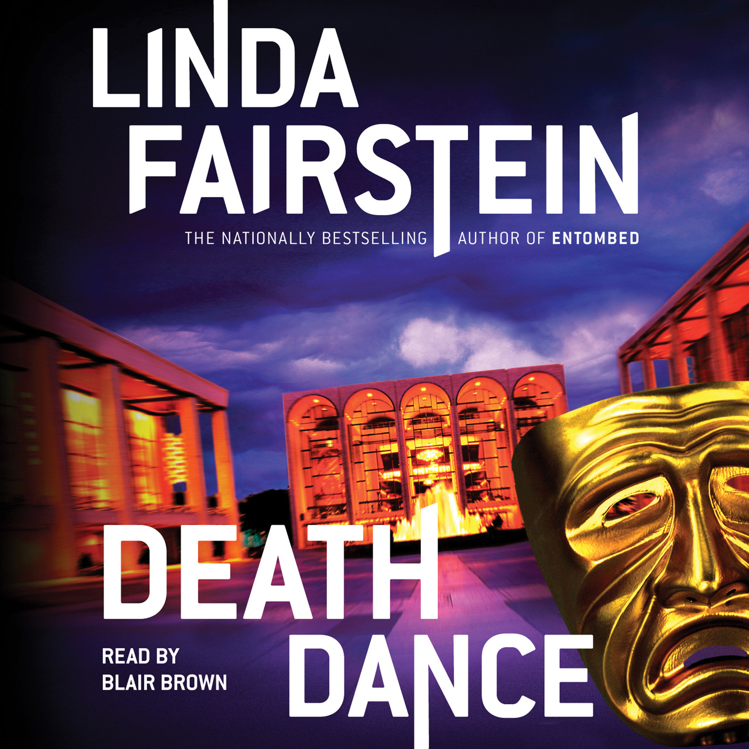 Printable Death Dance: A Novel Audiobook Cover Art