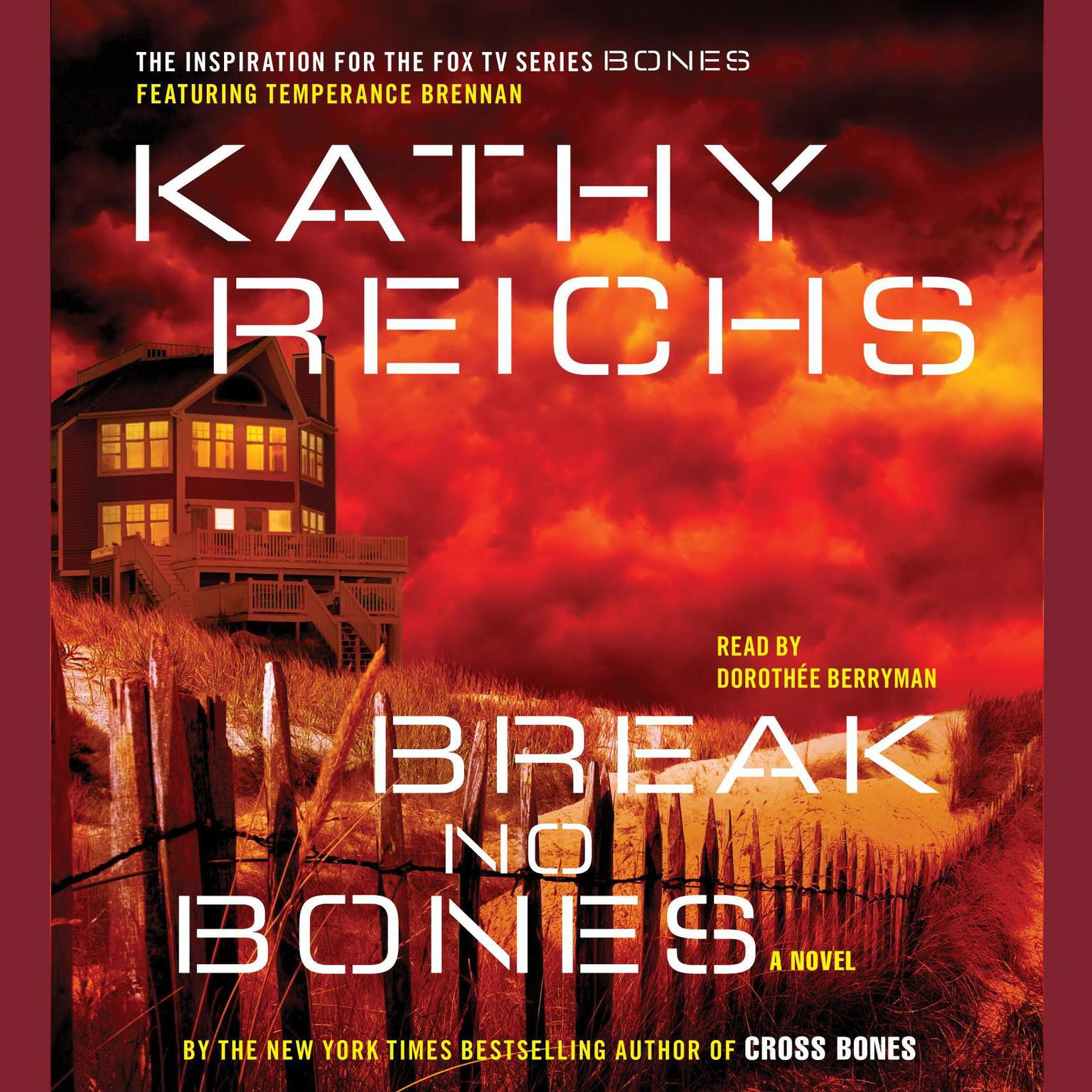 Printable Break No Bones: A Novel Audiobook Cover Art