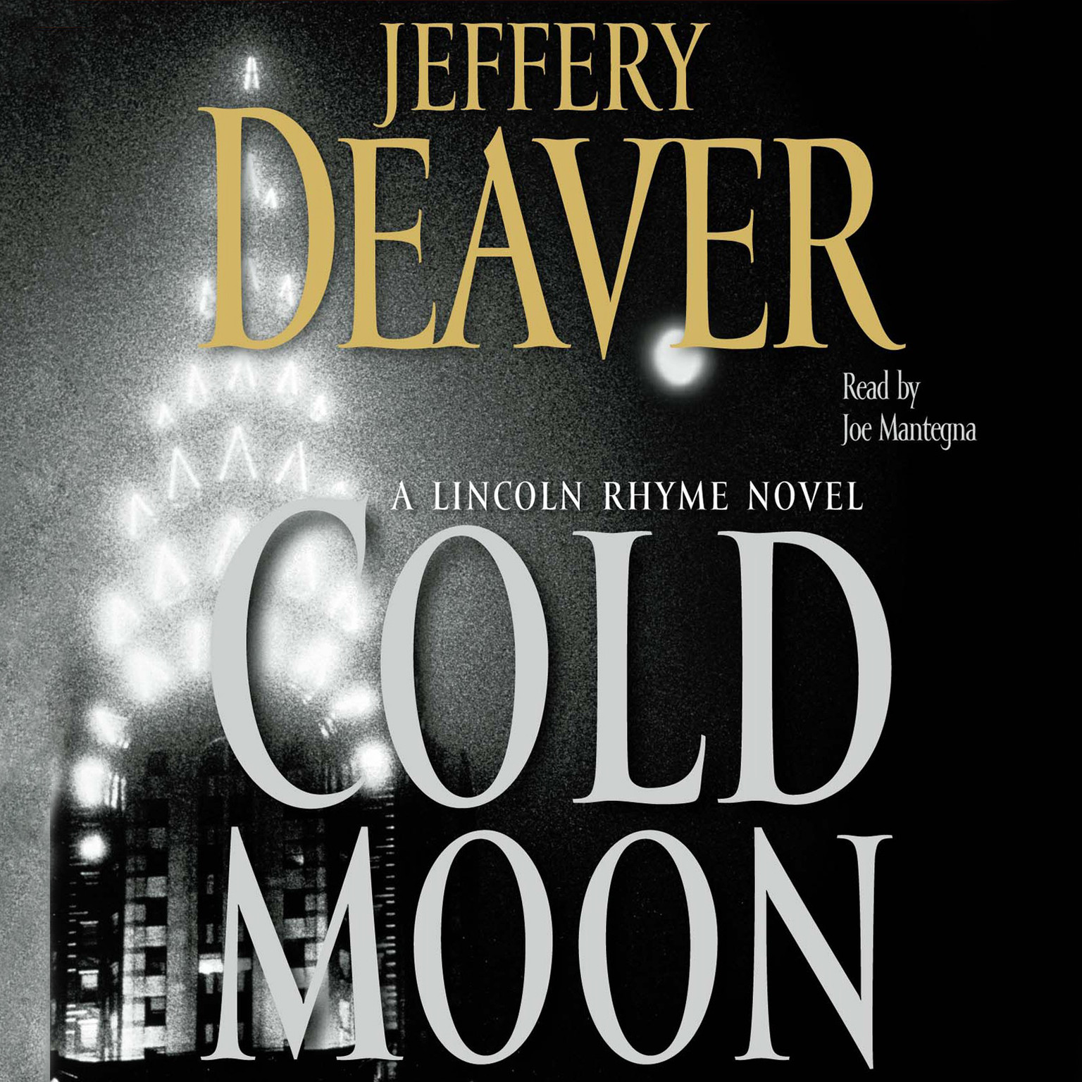 Printable The Cold Moon: A Lincoln Rhyme Novel Audiobook Cover Art