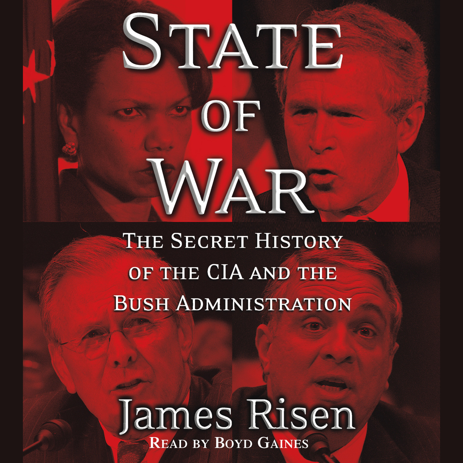 Printable State of War: The Secret History of the CIA and the Bush Administration Audiobook Cover Art