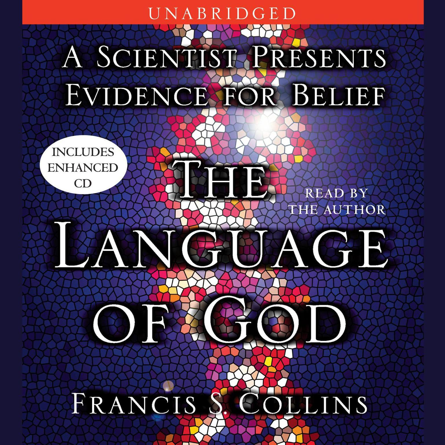Printable The Language of God: A Scientist Presents Evidence for Belief Audiobook Cover Art