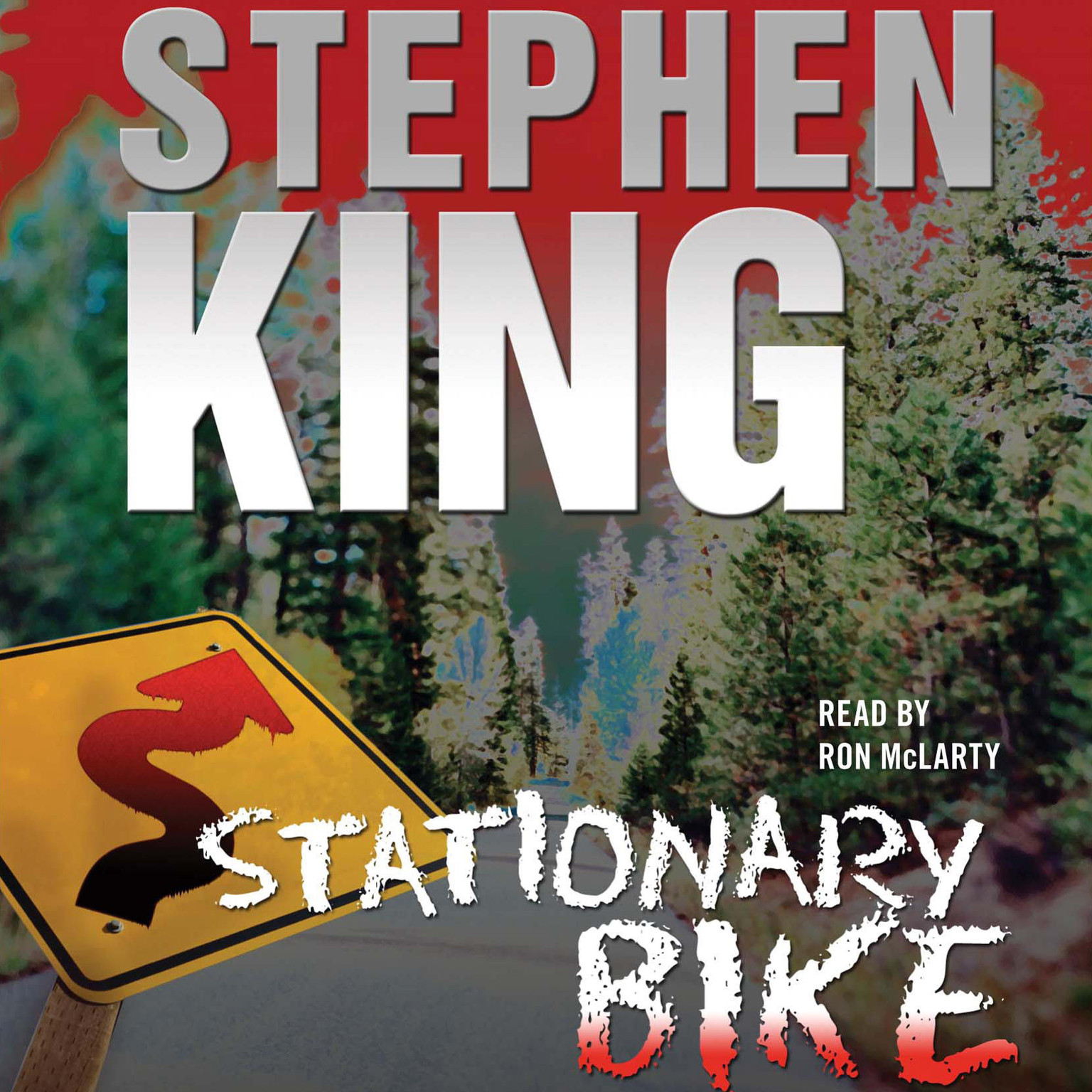Printable Stationary Bike Audiobook Cover Art