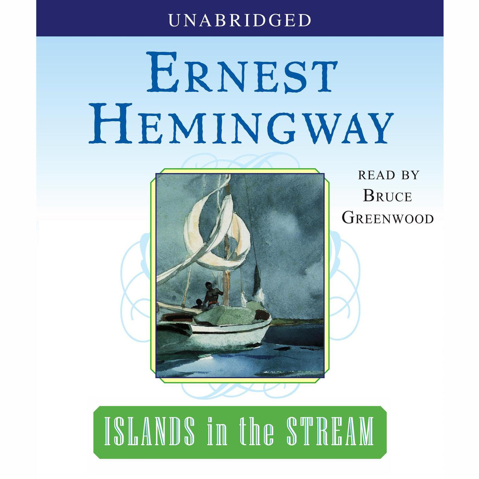 Printable Islands in the Stream Audiobook Cover Art