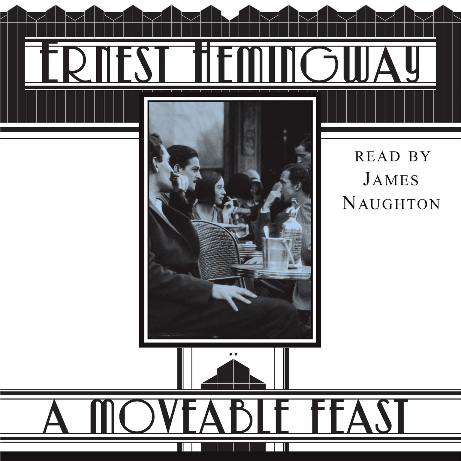 Printable A Moveable Feast Audiobook Cover Art