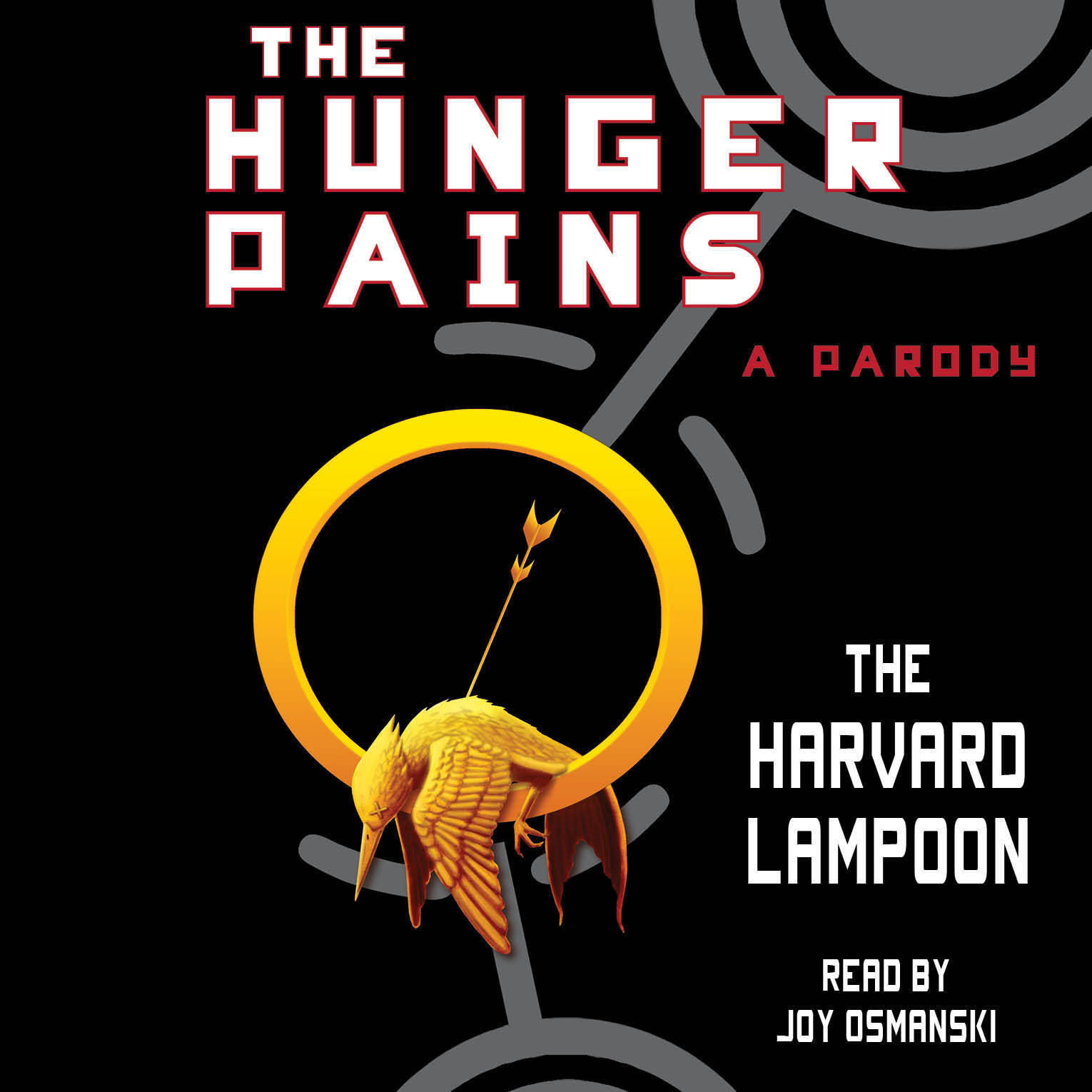 Printable The Hunger Pains: A Parody Audiobook Cover Art
