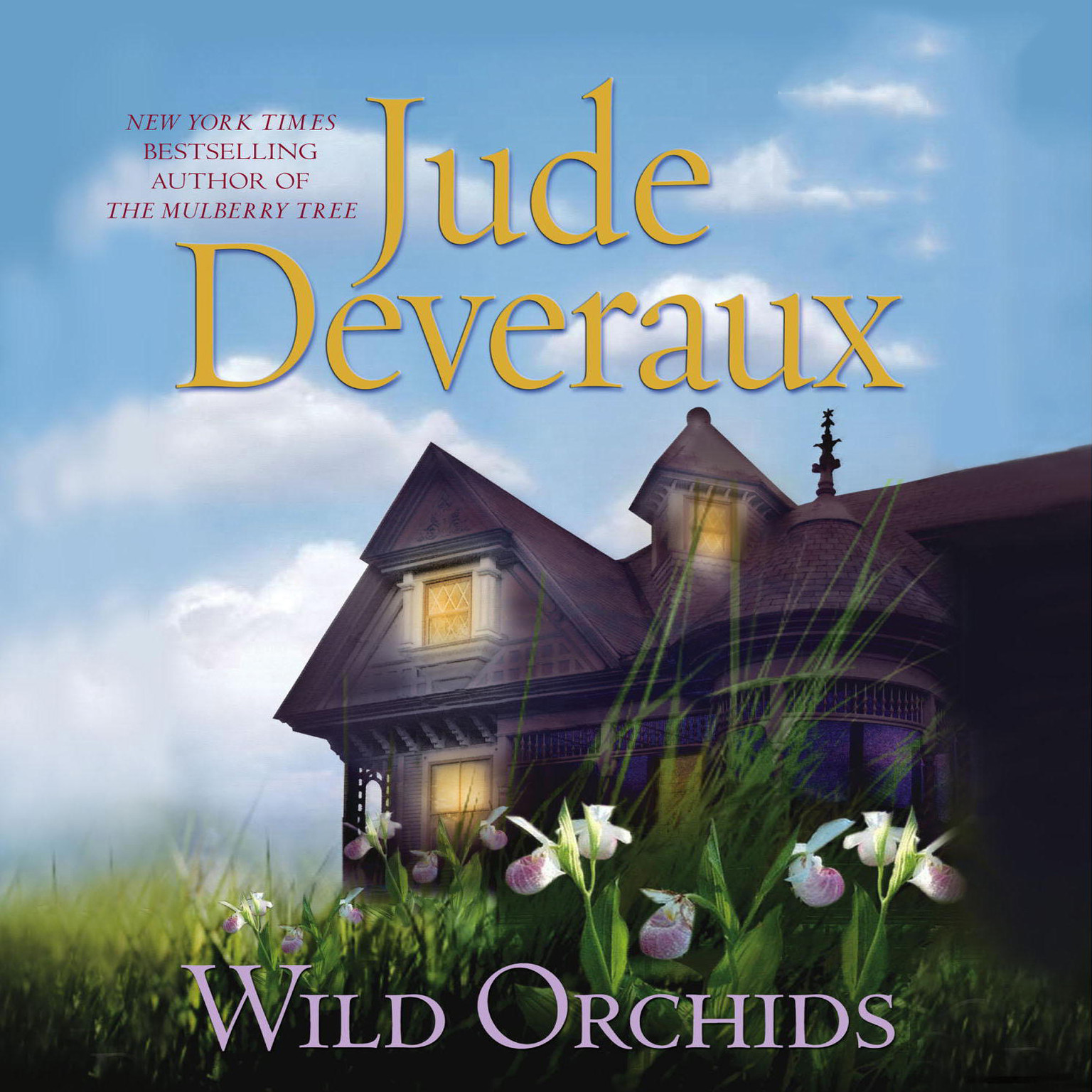 Printable Wild Orchids: A Novel Audiobook Cover Art