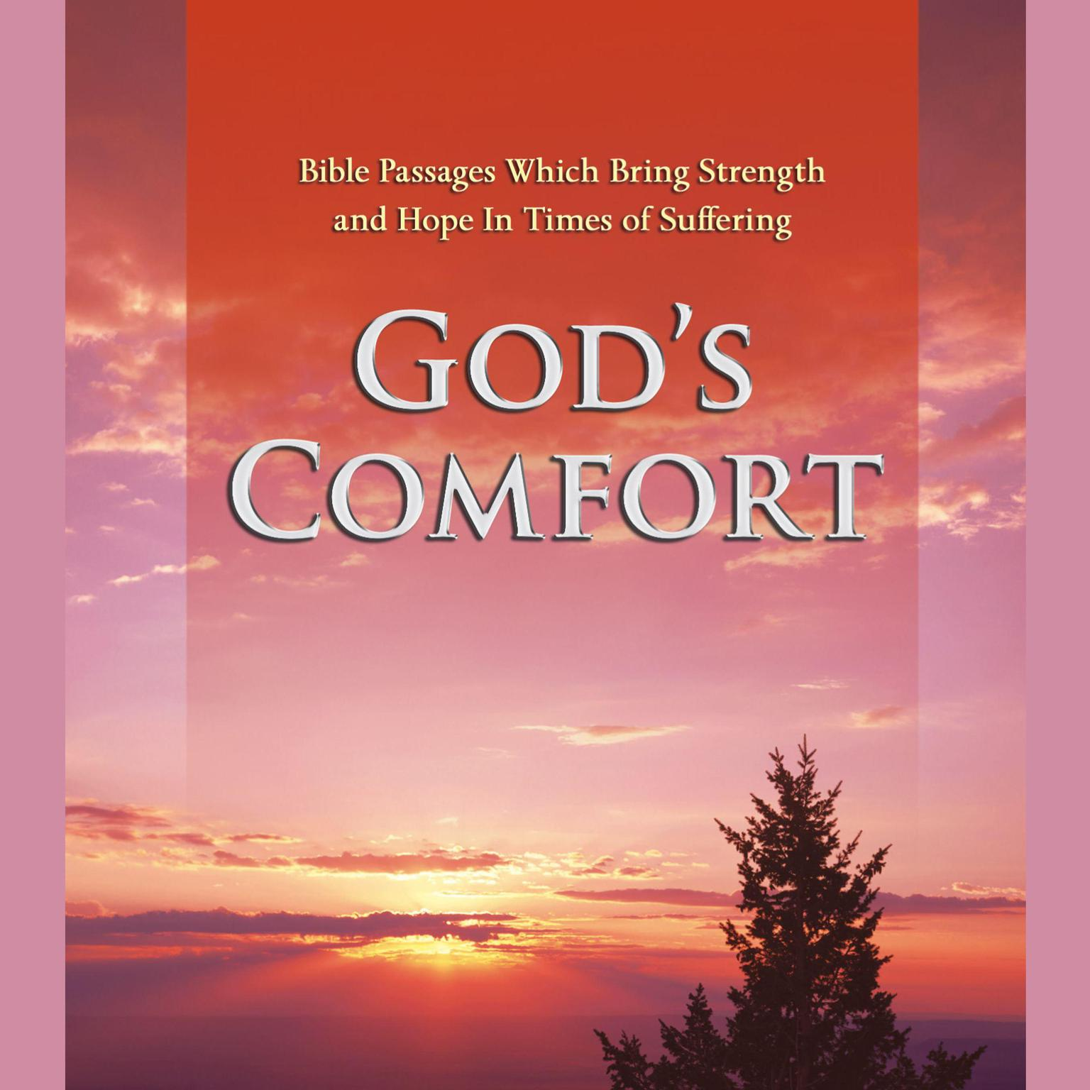 Printable God's Comfort: Bible Passages Which Bring Strength and Hope In Times of Suffering Audiobook Cover Art
