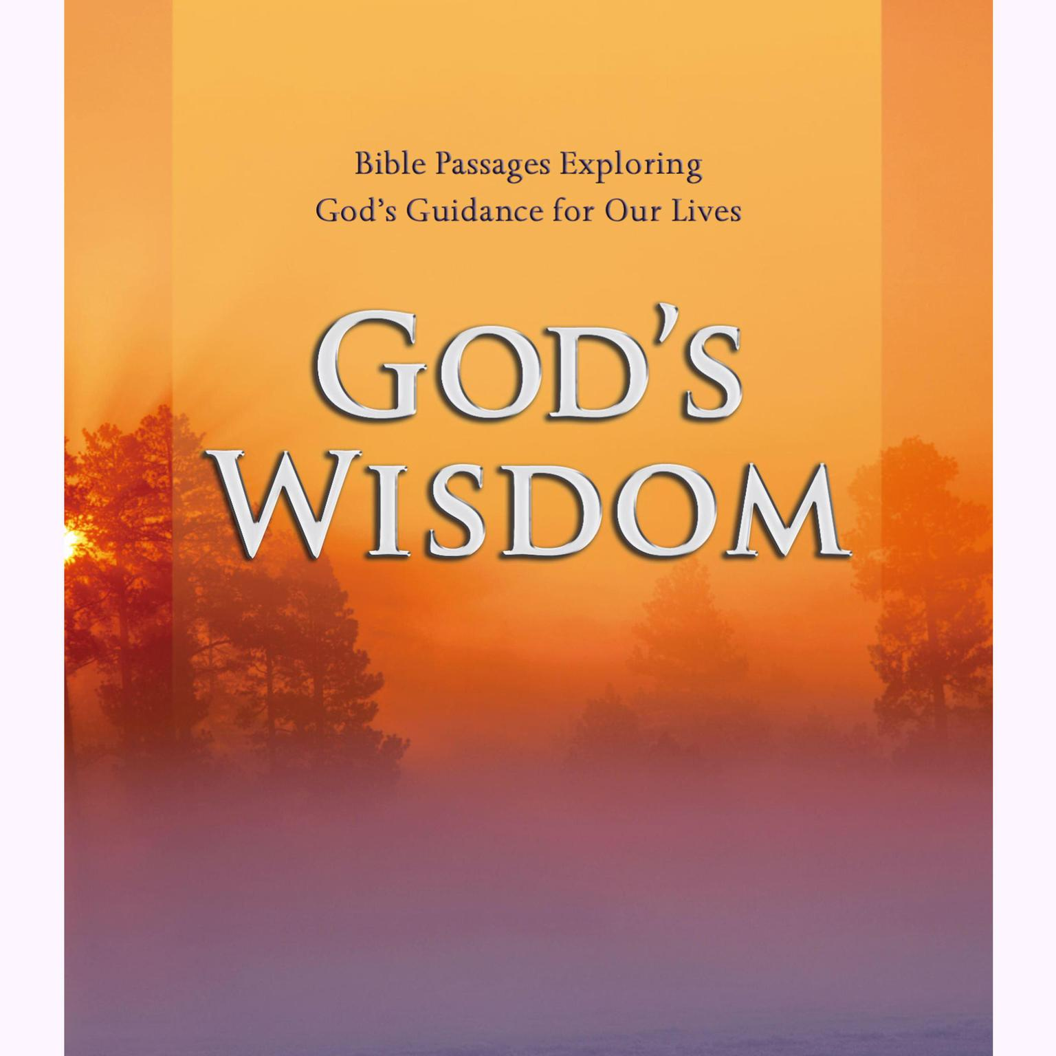 Printable God's Wisdom: Bible Passages Exploring God's Guidance for Our Lives Audiobook Cover Art