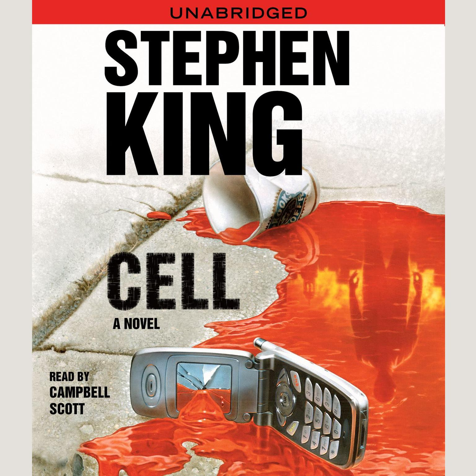 Printable Cell: A Novel Audiobook Cover Art