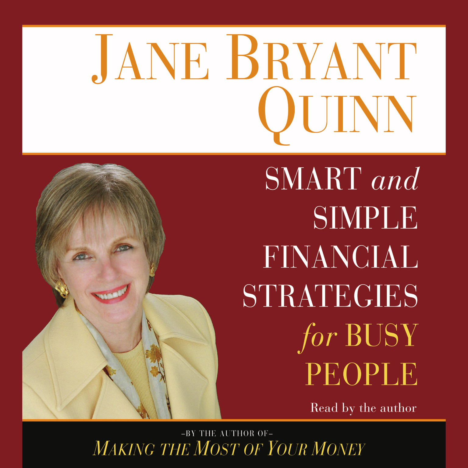 Printable Smart and Simple Financial Strategies for Busy People Audiobook Cover Art
