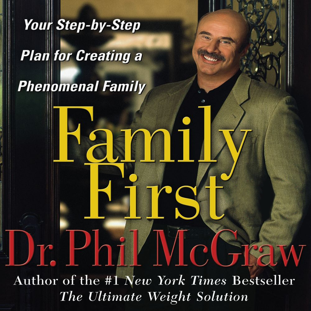 Printable Family First: Your Step-by-Step Plan for Creating a Phenomenal Family Audiobook Cover Art