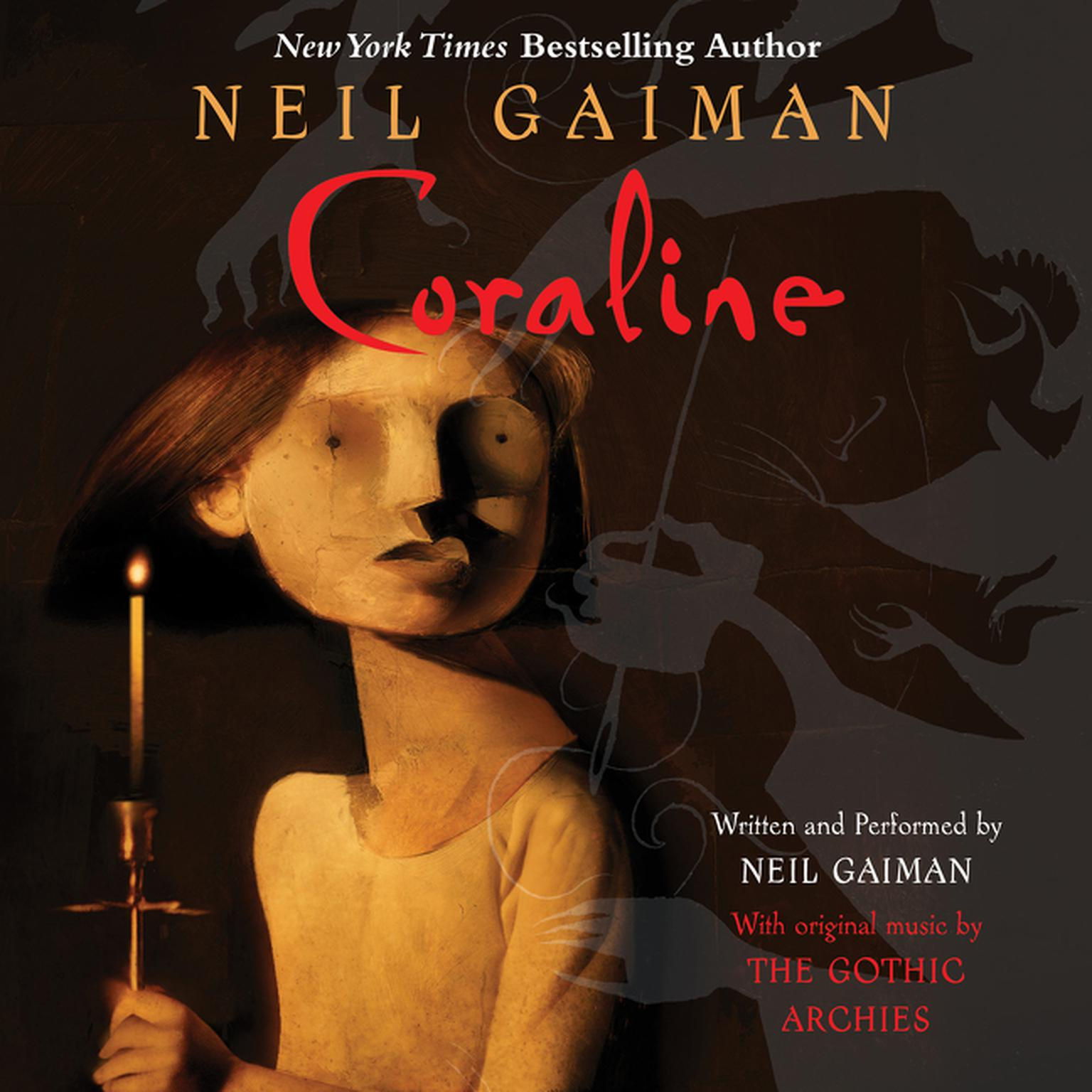 Printable Coraline Audiobook Cover Art