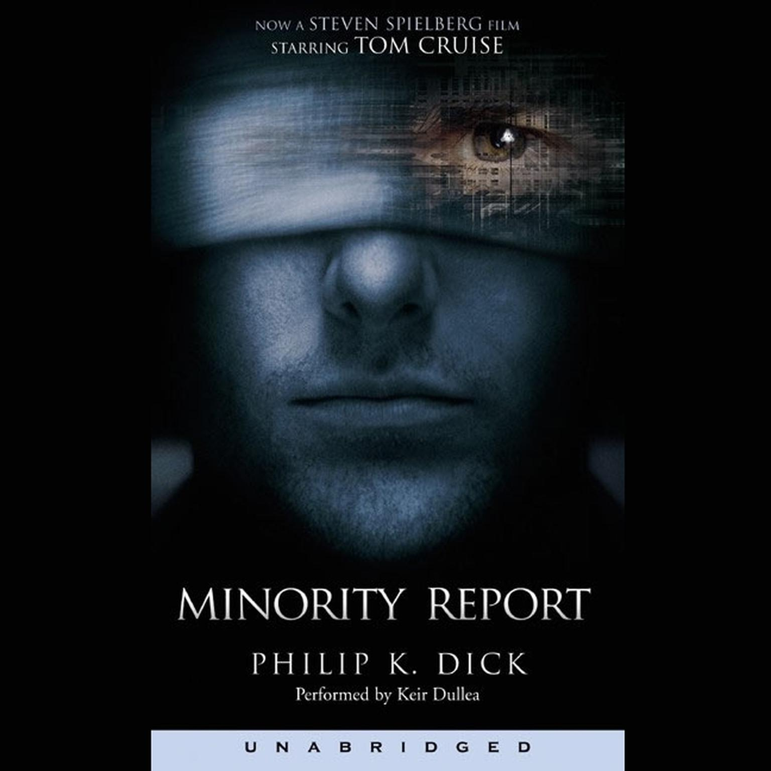 Printable The Minority Report and Other Stories Audiobook Cover Art