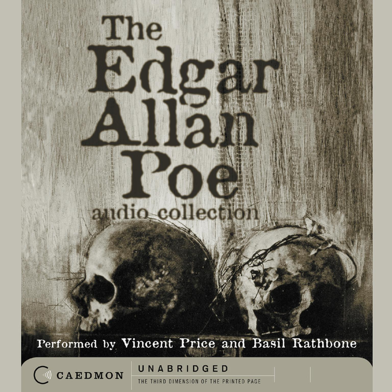 Printable The Edgar Allan Poe Audio Collection Audiobook Cover Art