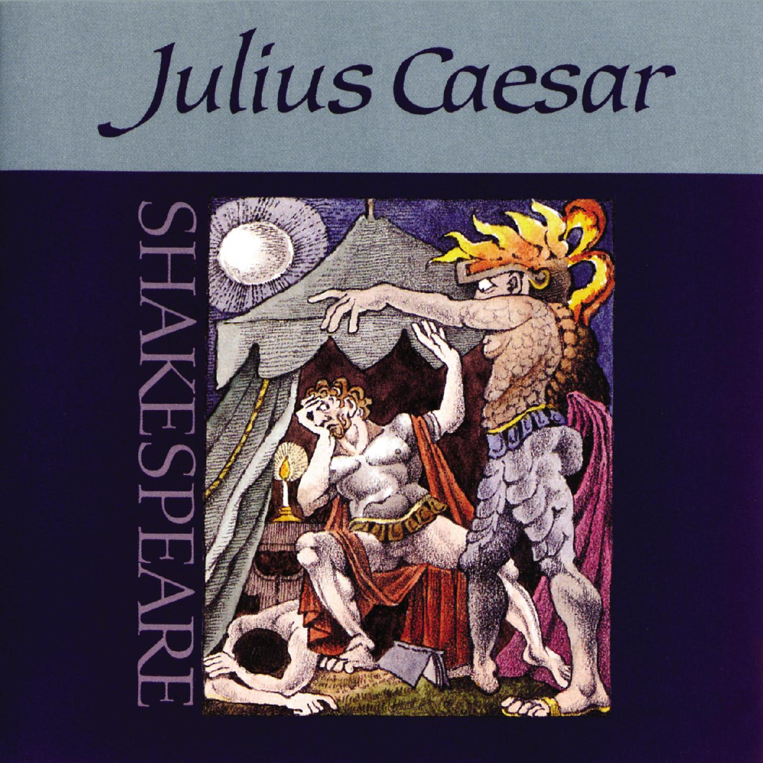Printable Julius Caesar Audiobook Cover Art