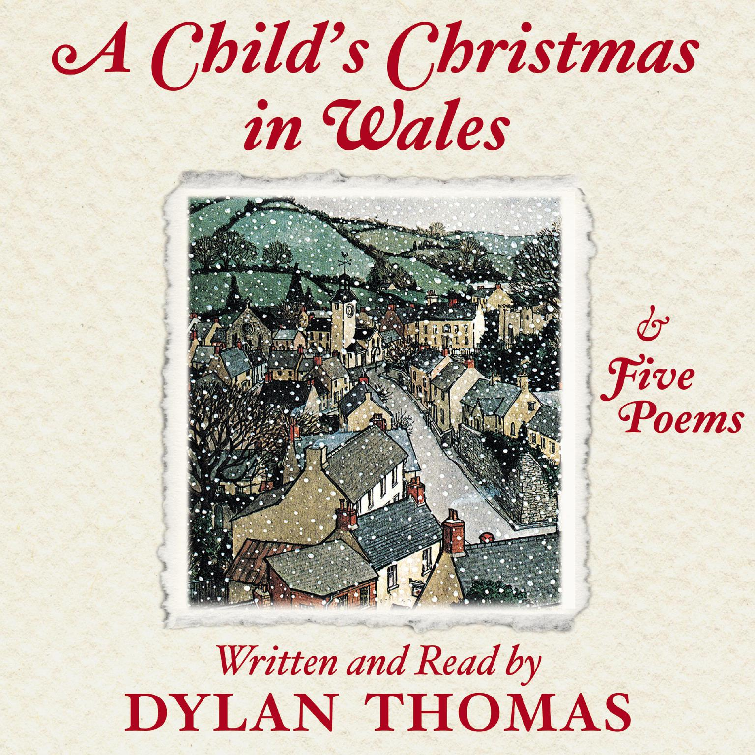 Printable A Child's Christmas In Wales Audiobook Cover Art