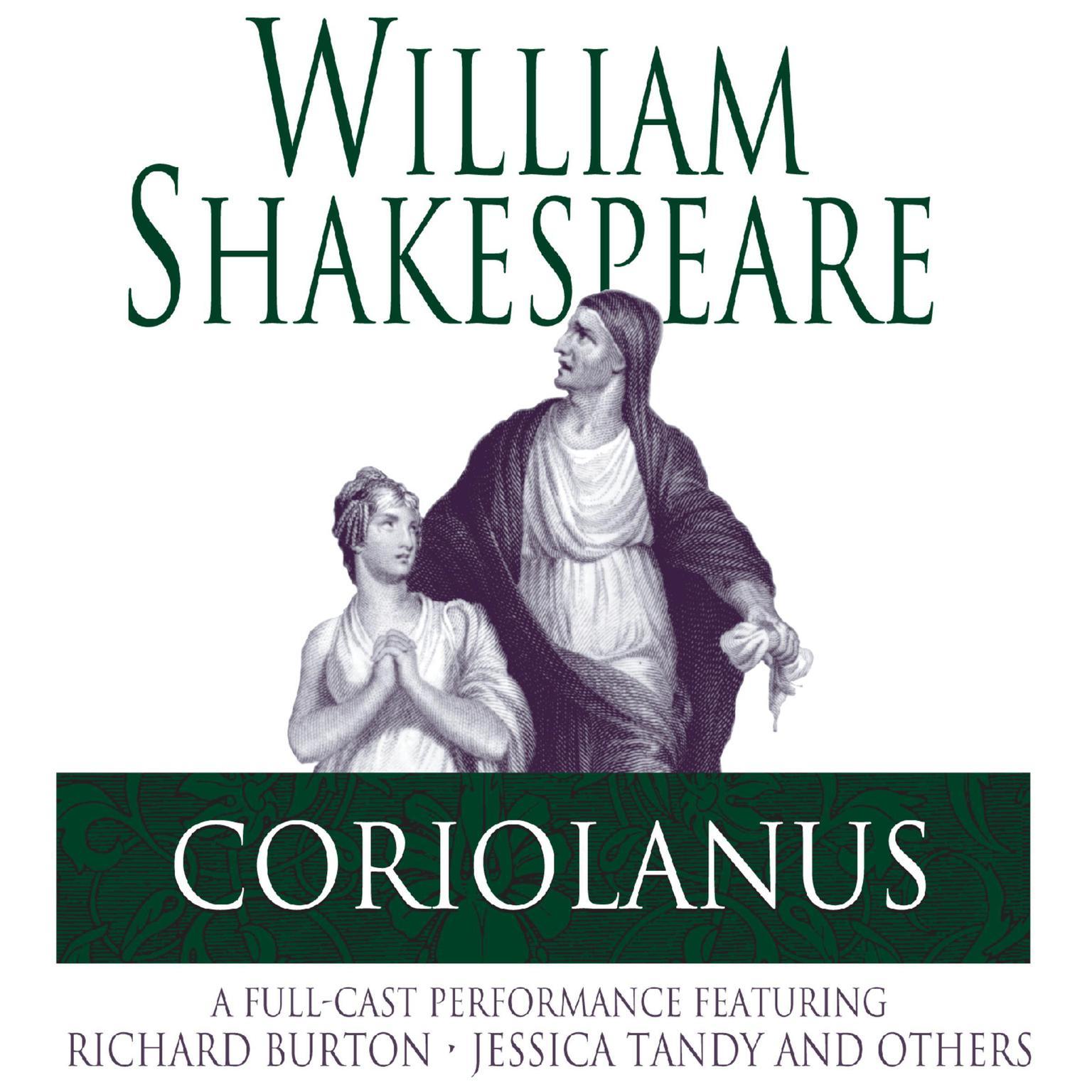 Coriolanus Shakespeare: Coriolanus - Audiobook (abridged)