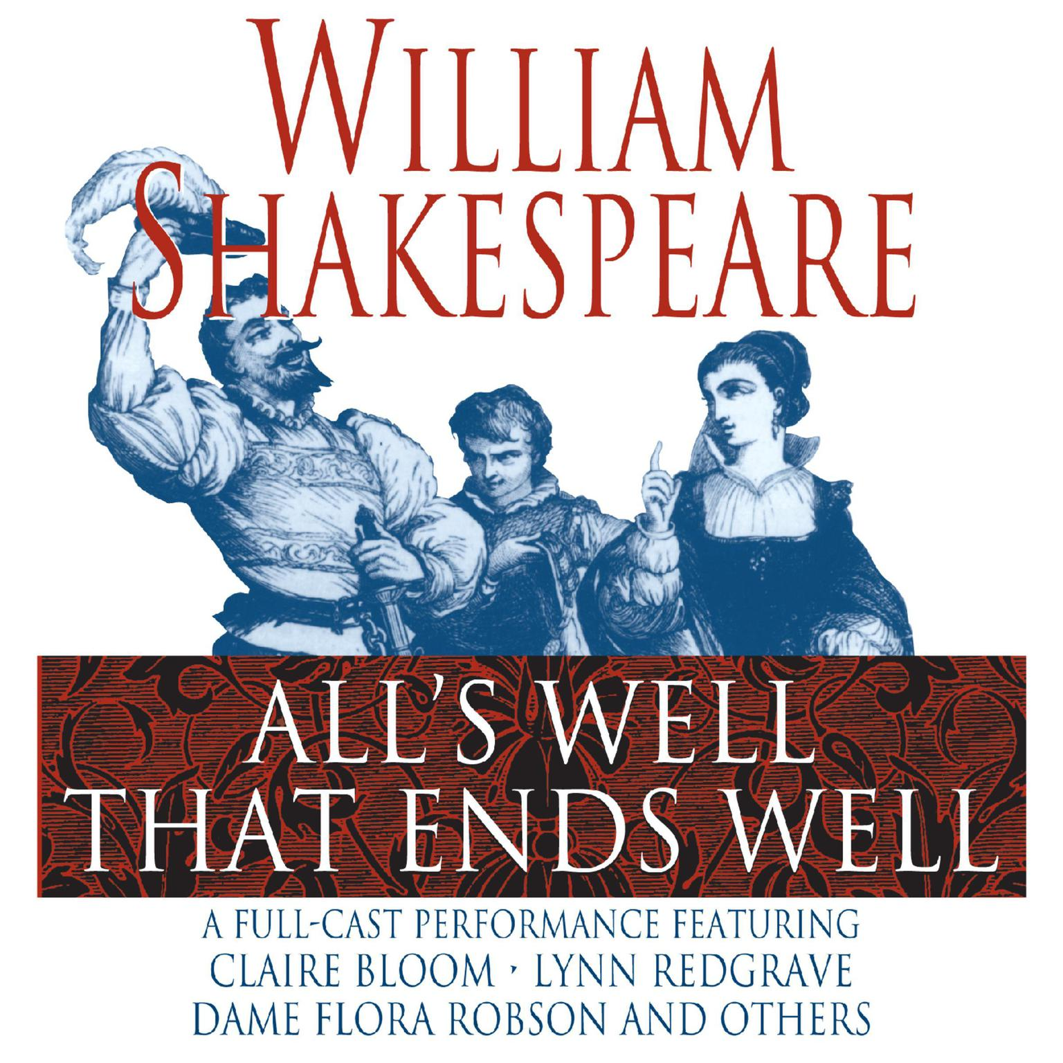 Printable All's Well That Ends Well Audiobook Cover Art