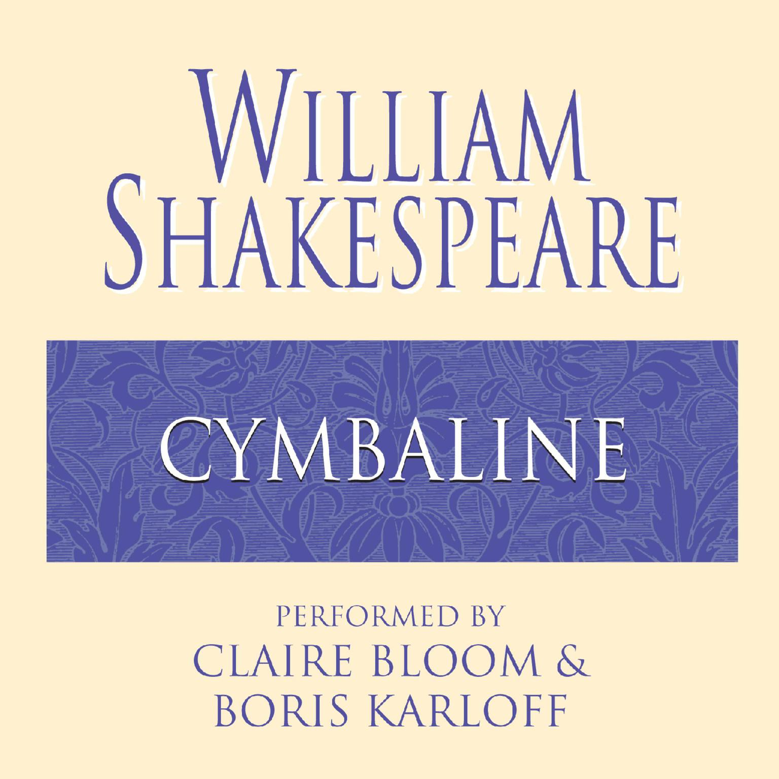 Printable Cymbeline Audiobook Cover Art