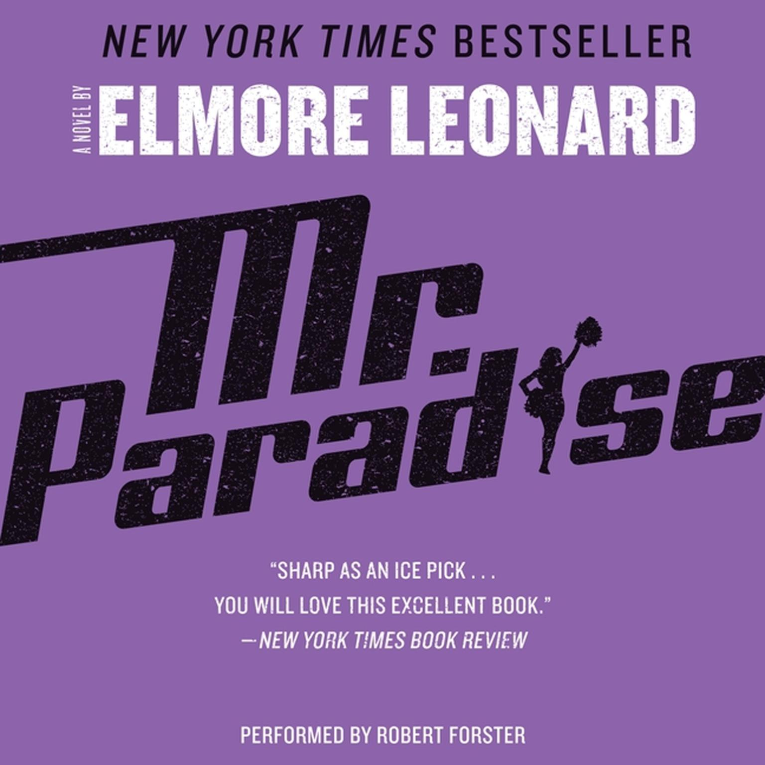 Printable Mr. Paradise: A Novel Audiobook Cover Art