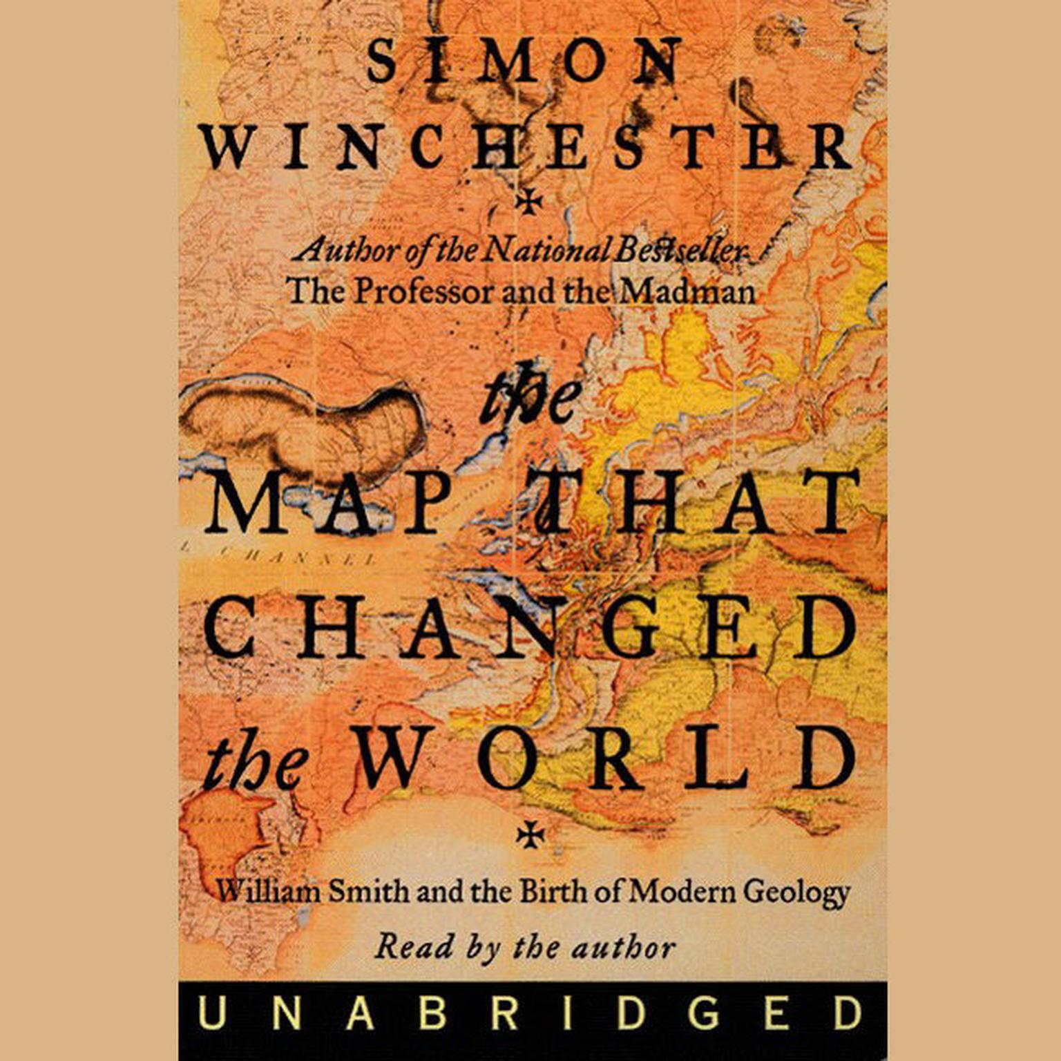 Printable Map That Changed the World: William Smith and the Birth of Modern Geology Audiobook Cover Art