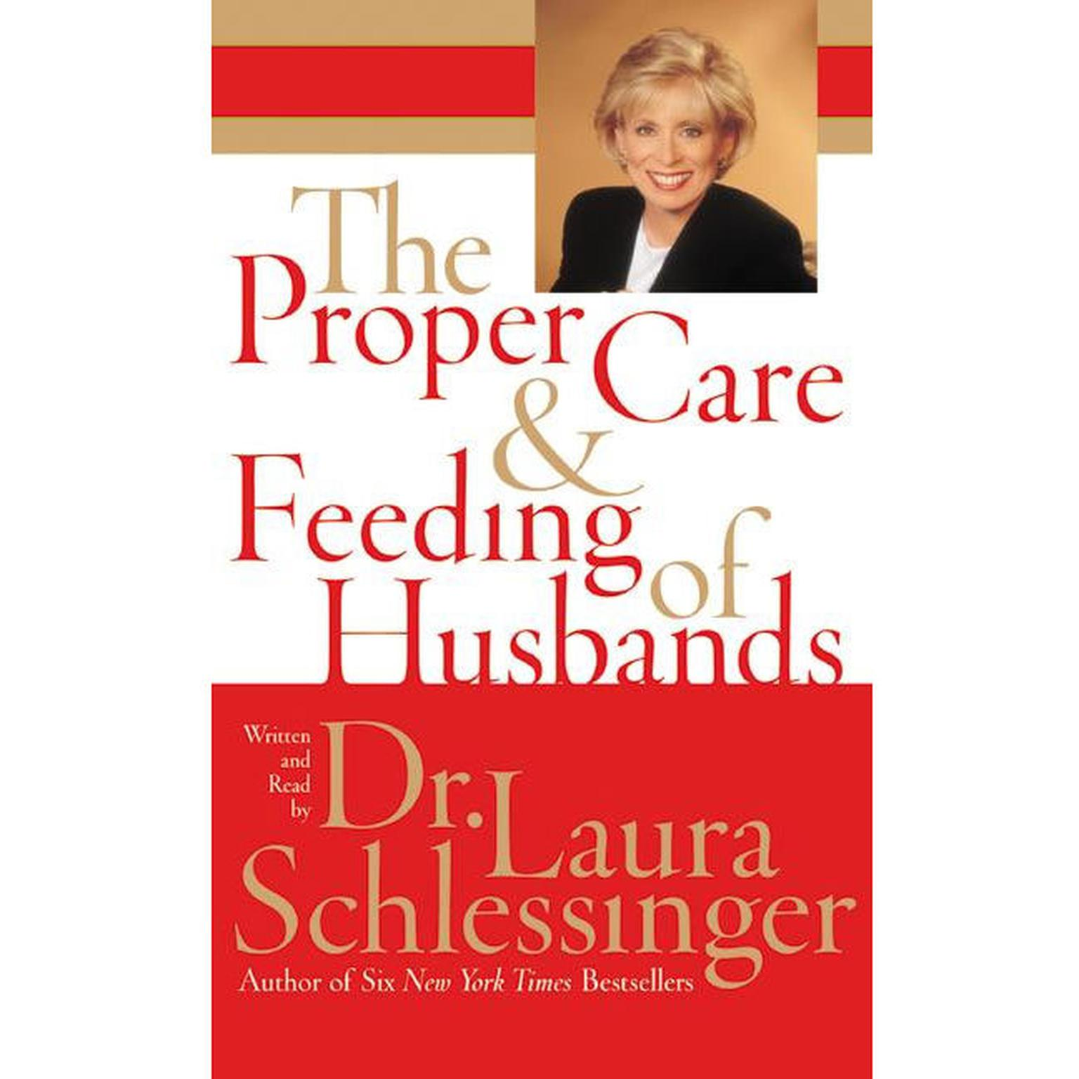 Printable The Proper Care and Feeding of Husbands Audiobook Cover Art