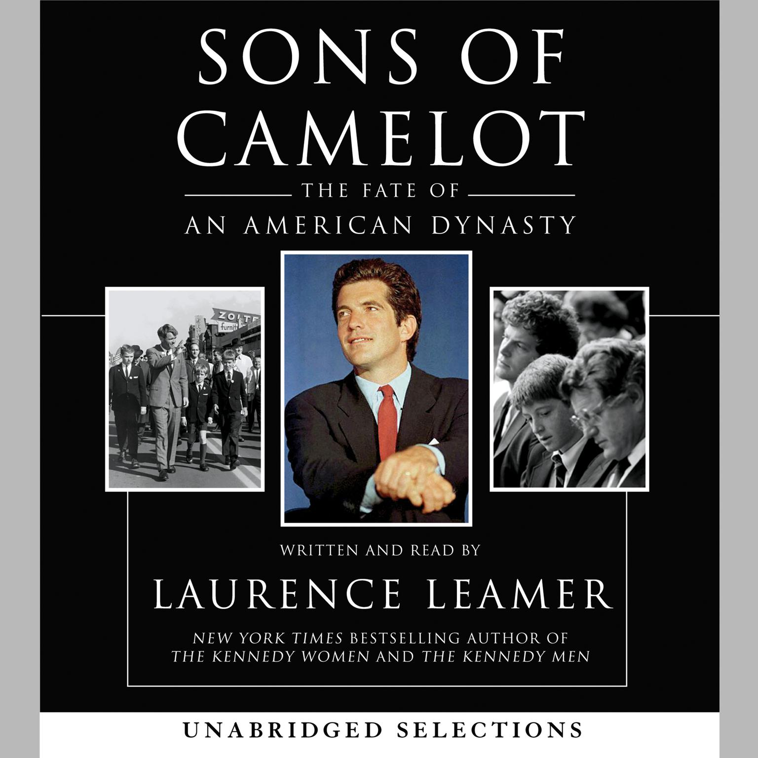 Printable Sons of Camelot: The Fate of an American Dynasty Audiobook Cover Art
