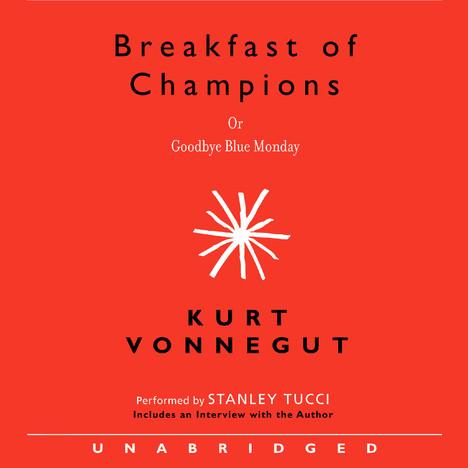 Printable Breakfast of Champions Audiobook Cover Art