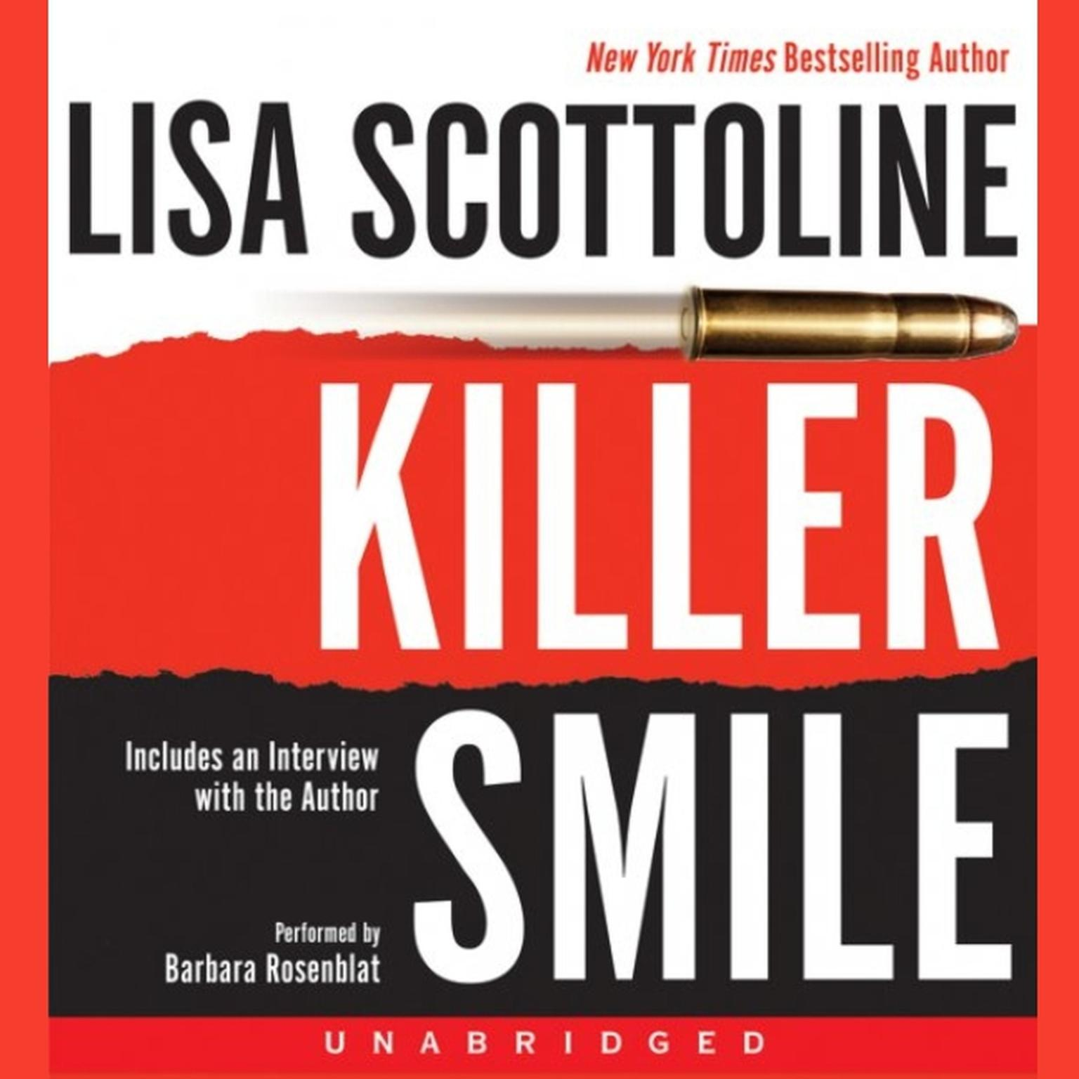 Printable Killer Smile Audiobook Cover Art