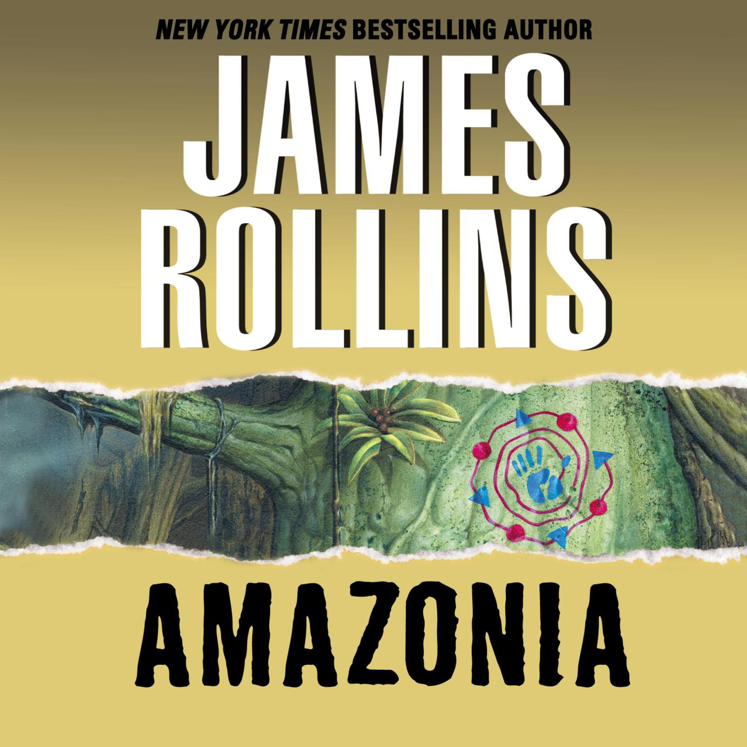Printable Amazonia Audiobook Cover Art