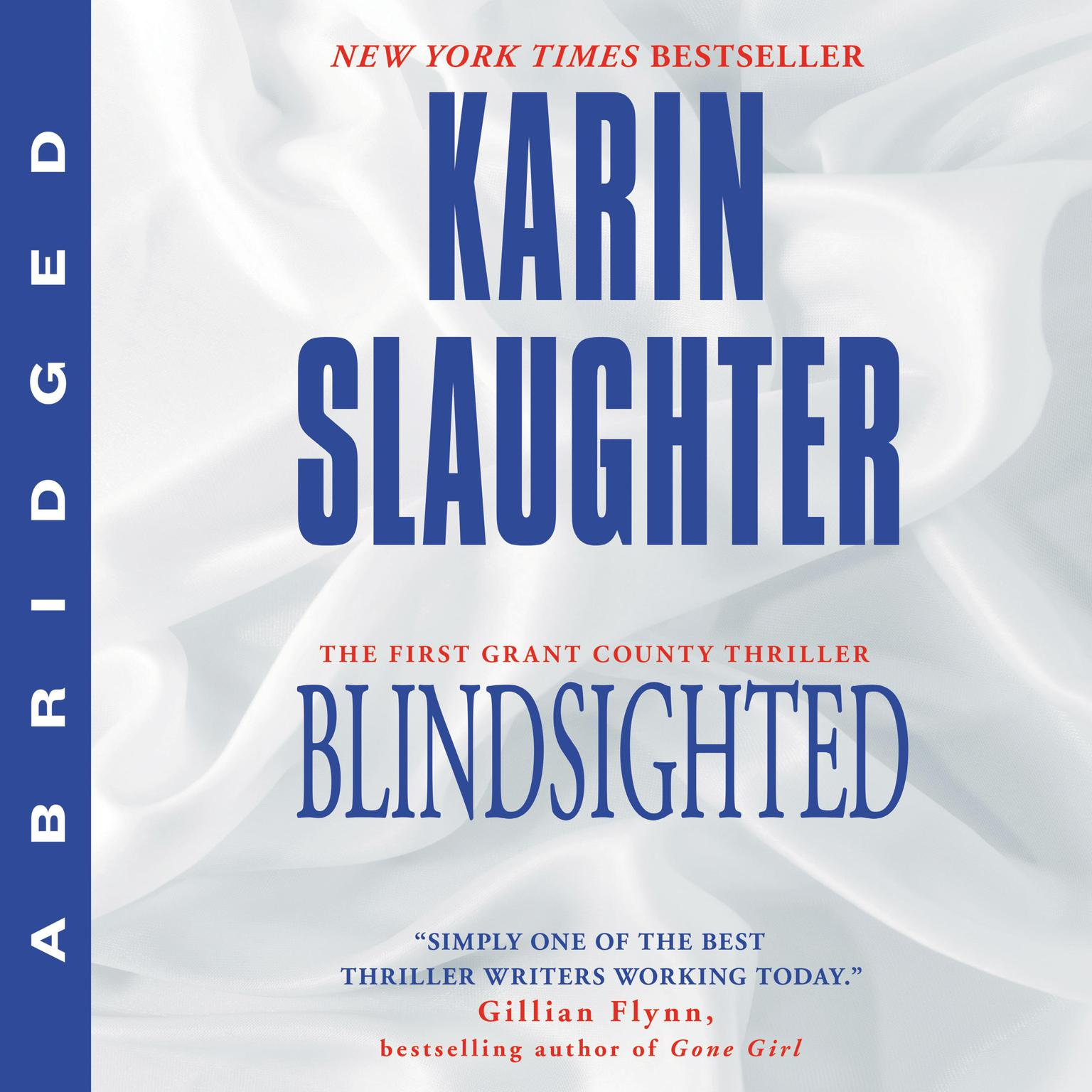 Printable Blindsighted Audiobook Cover Art
