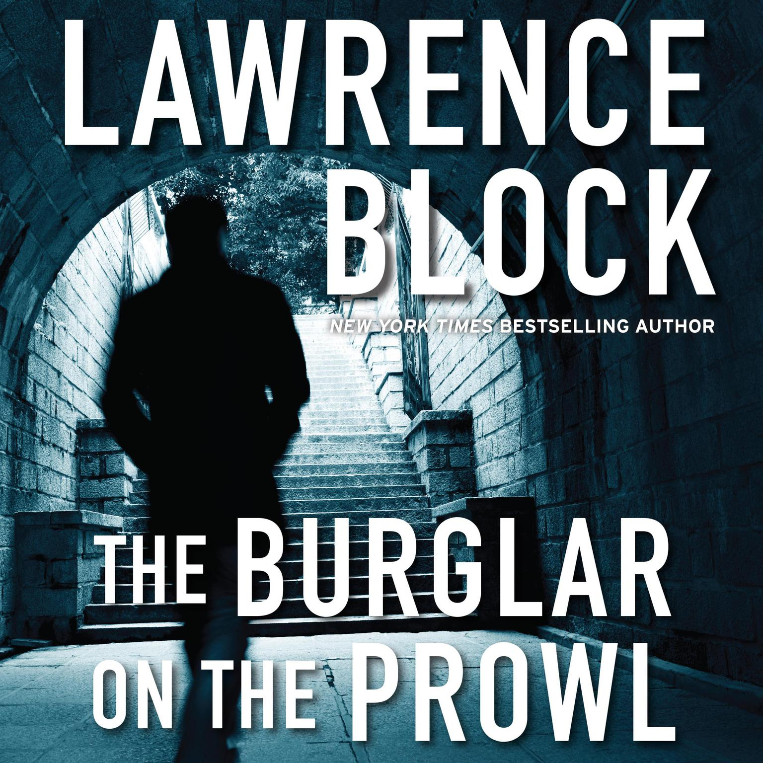 Printable The Burglar on the Prowl Audiobook Cover Art