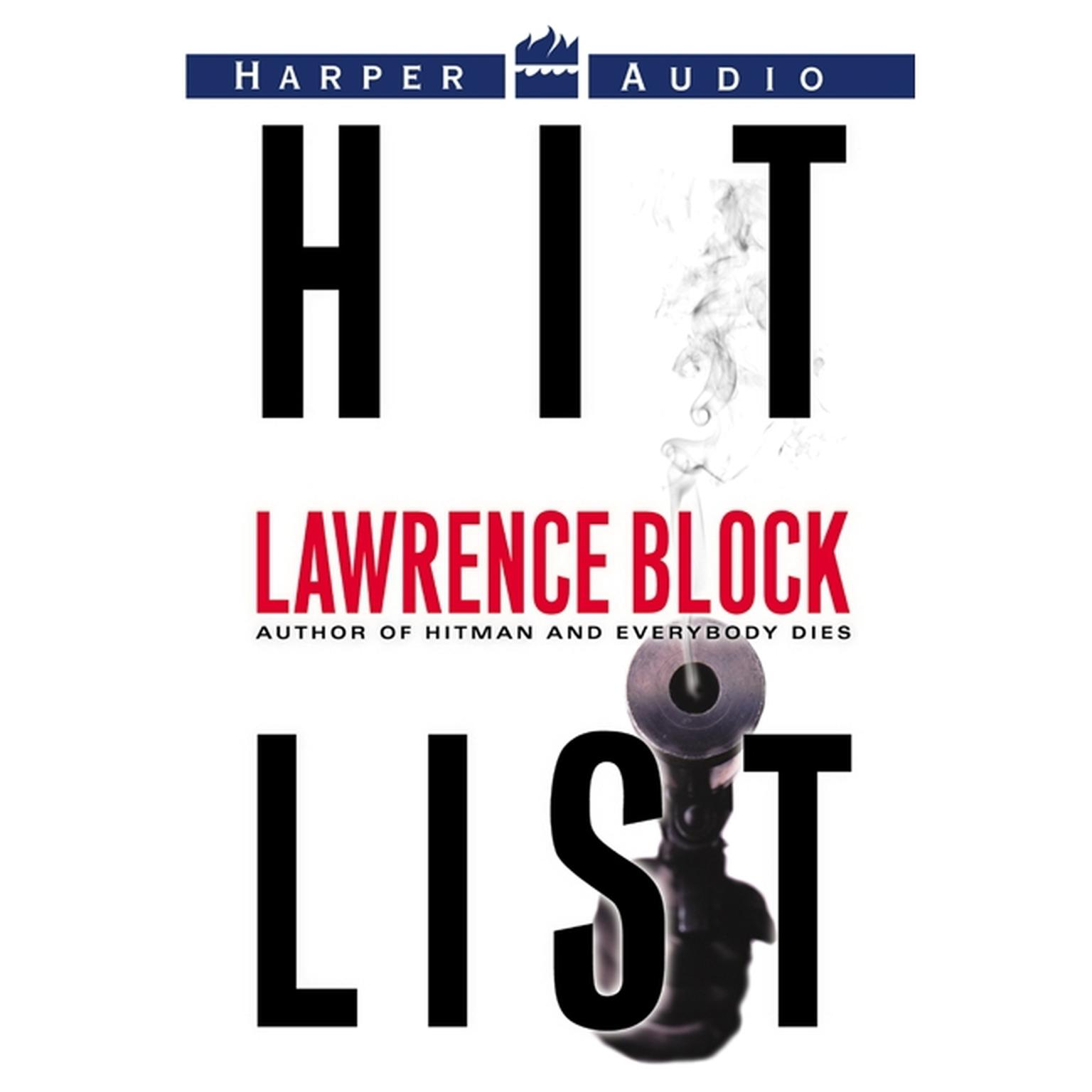 Printable Hit List Audiobook Cover Art