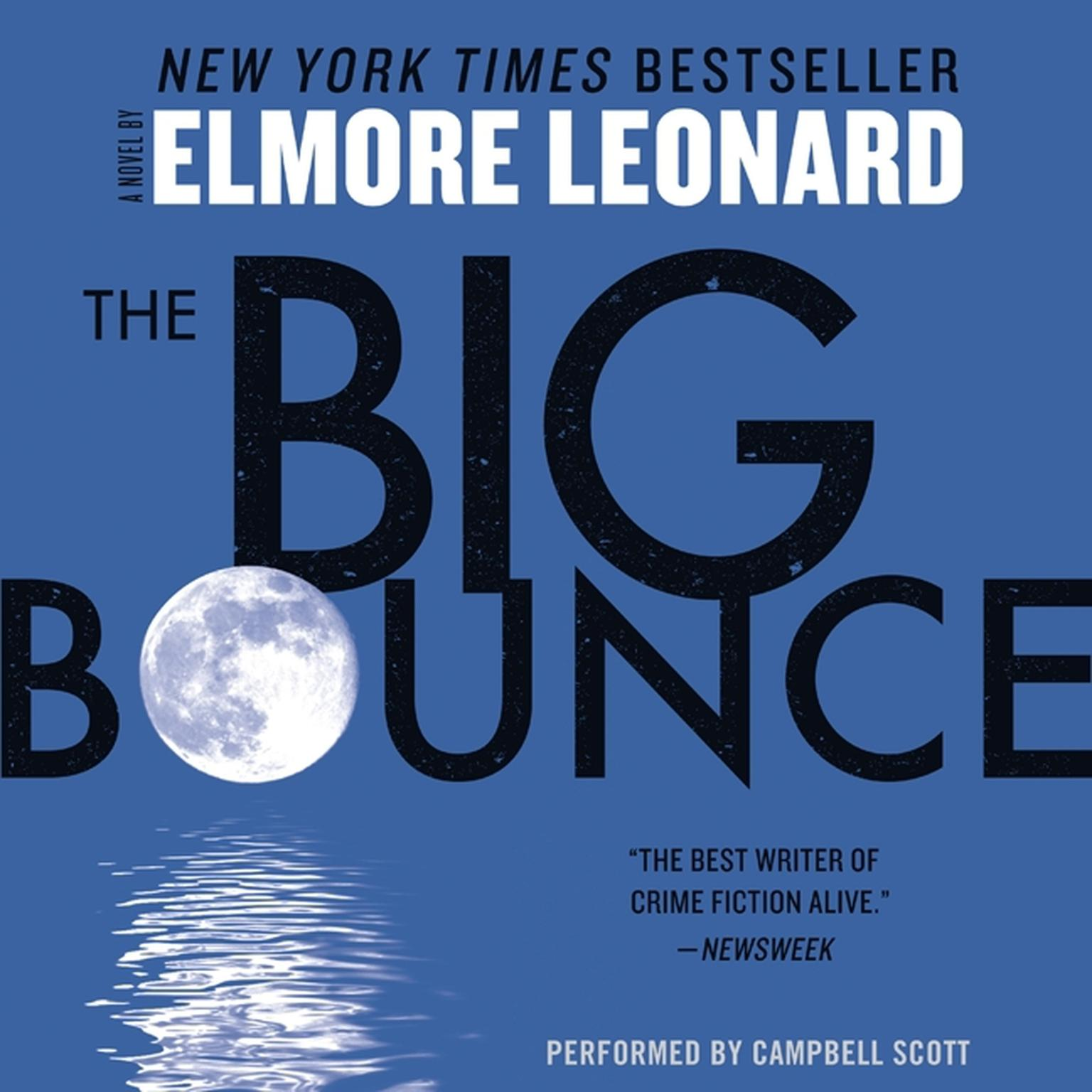 Printable The Big Bounce Audiobook Cover Art