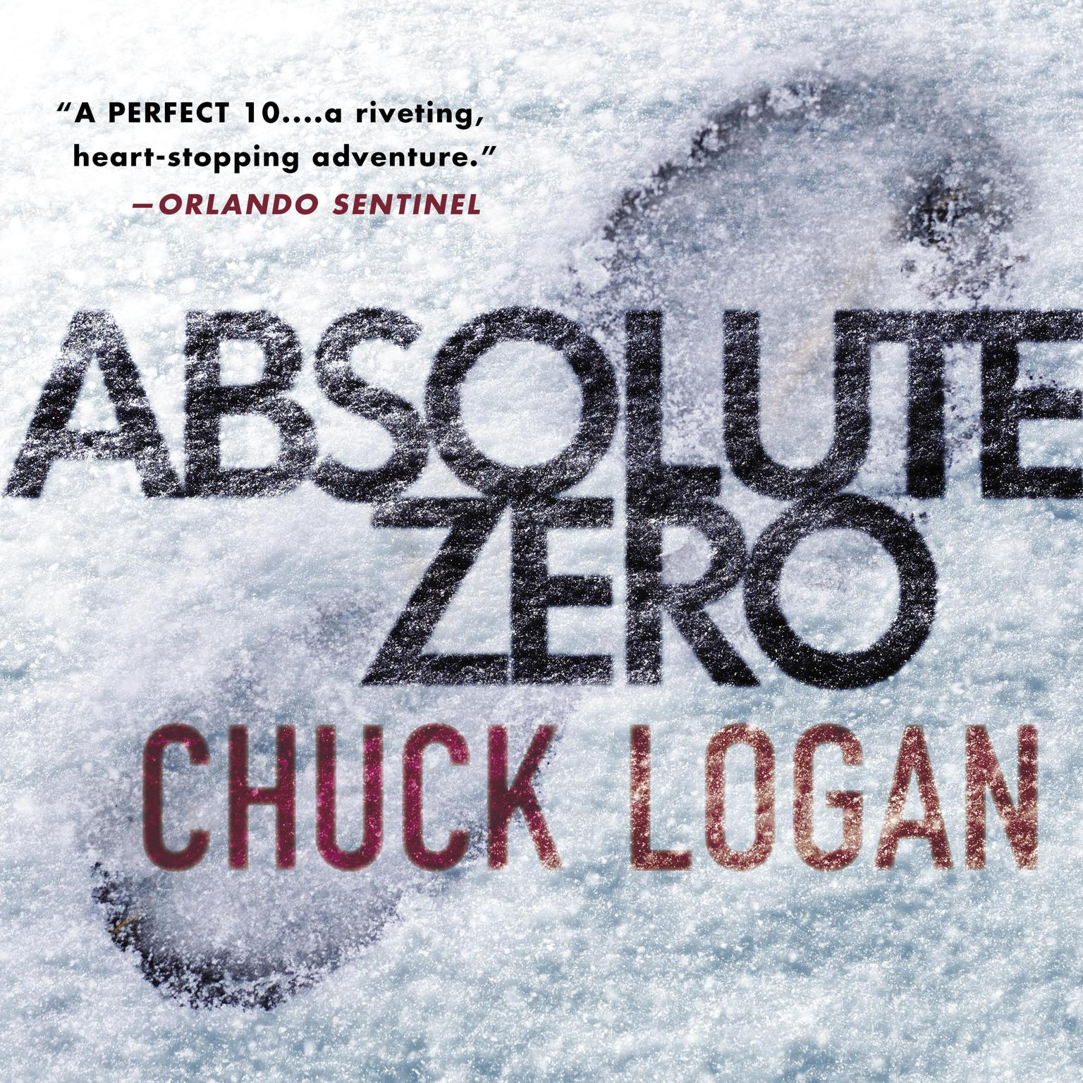 Printable Absolute Zero Audiobook Cover Art