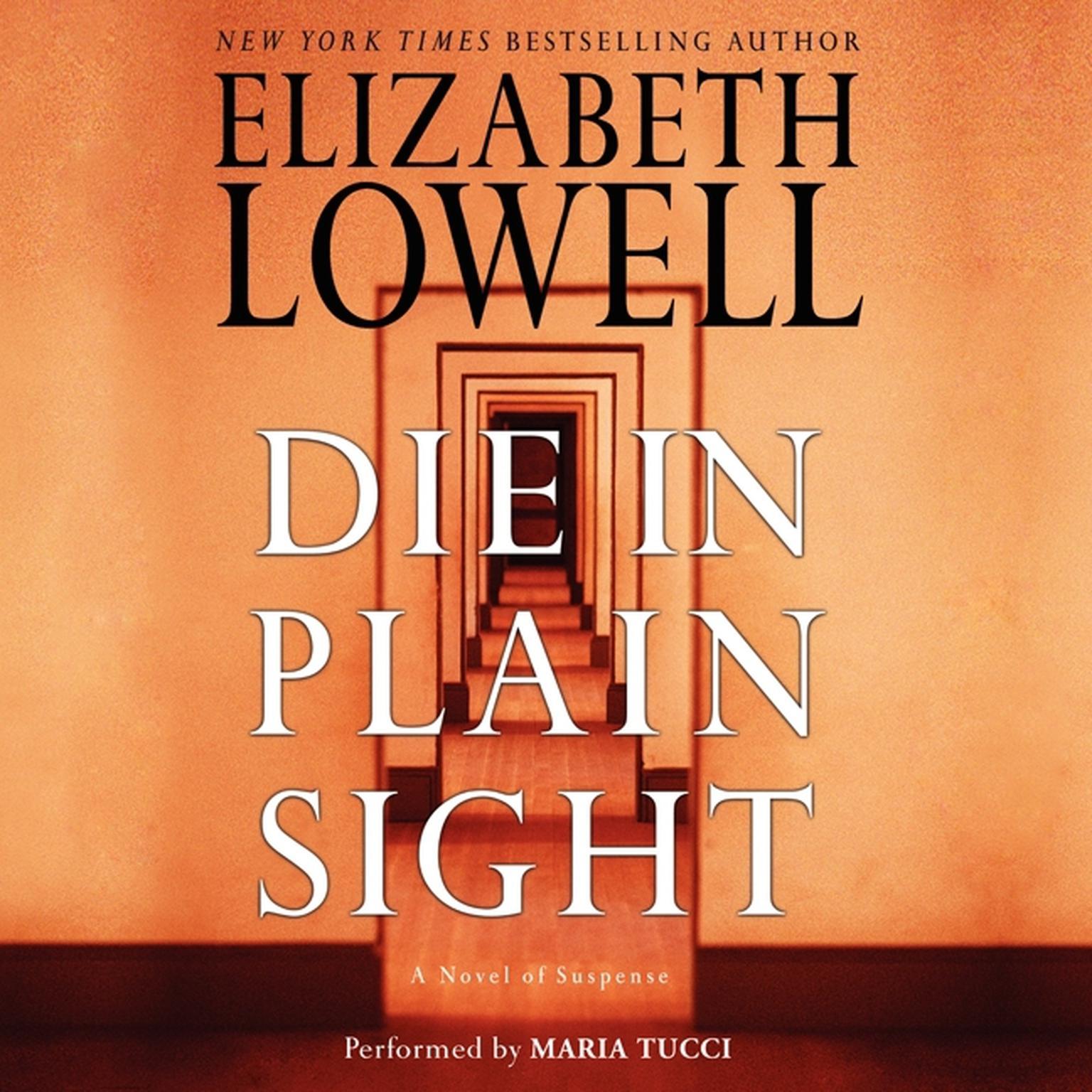 Printable Die in Plain Sight Audiobook Cover Art