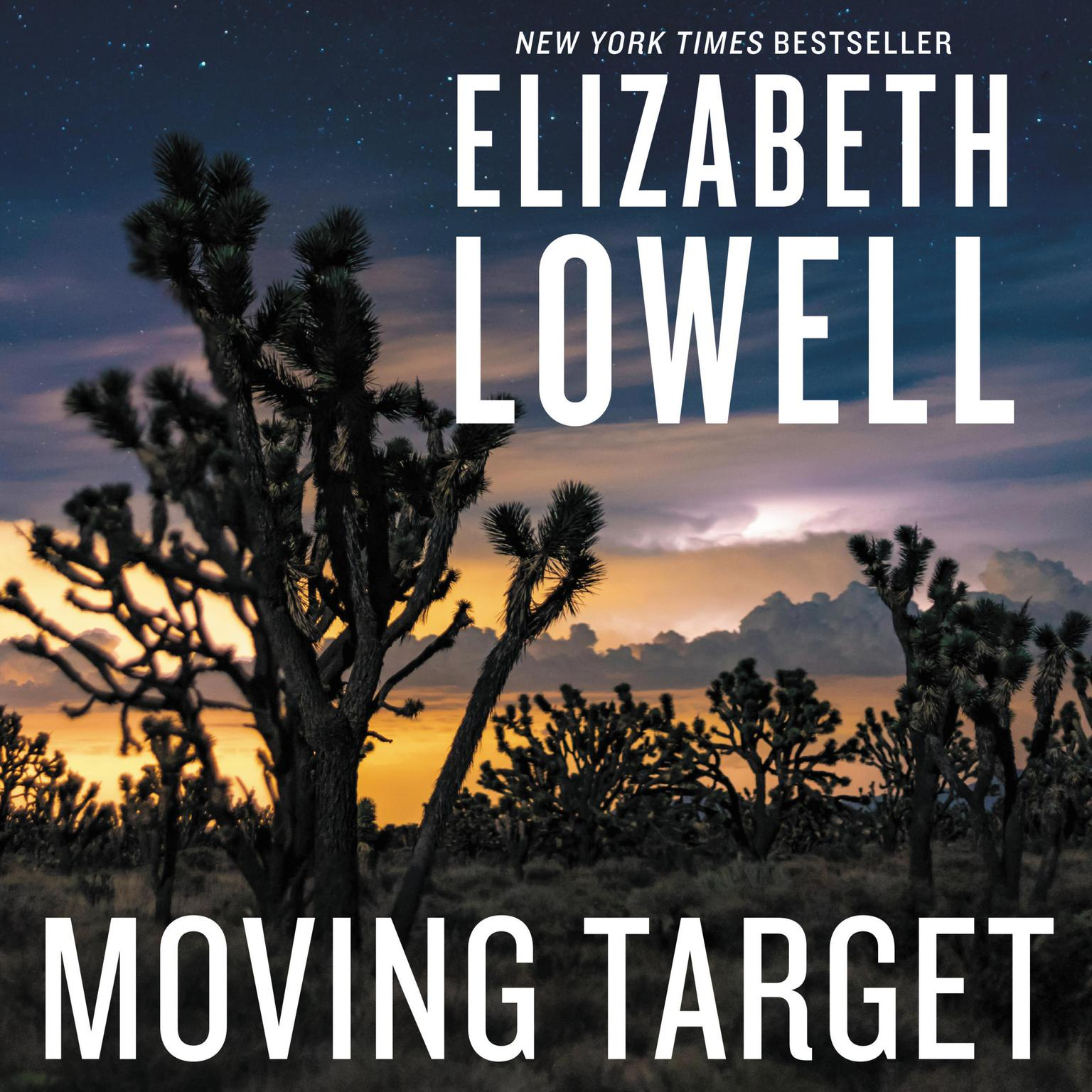 Printable Moving Target Audiobook Cover Art