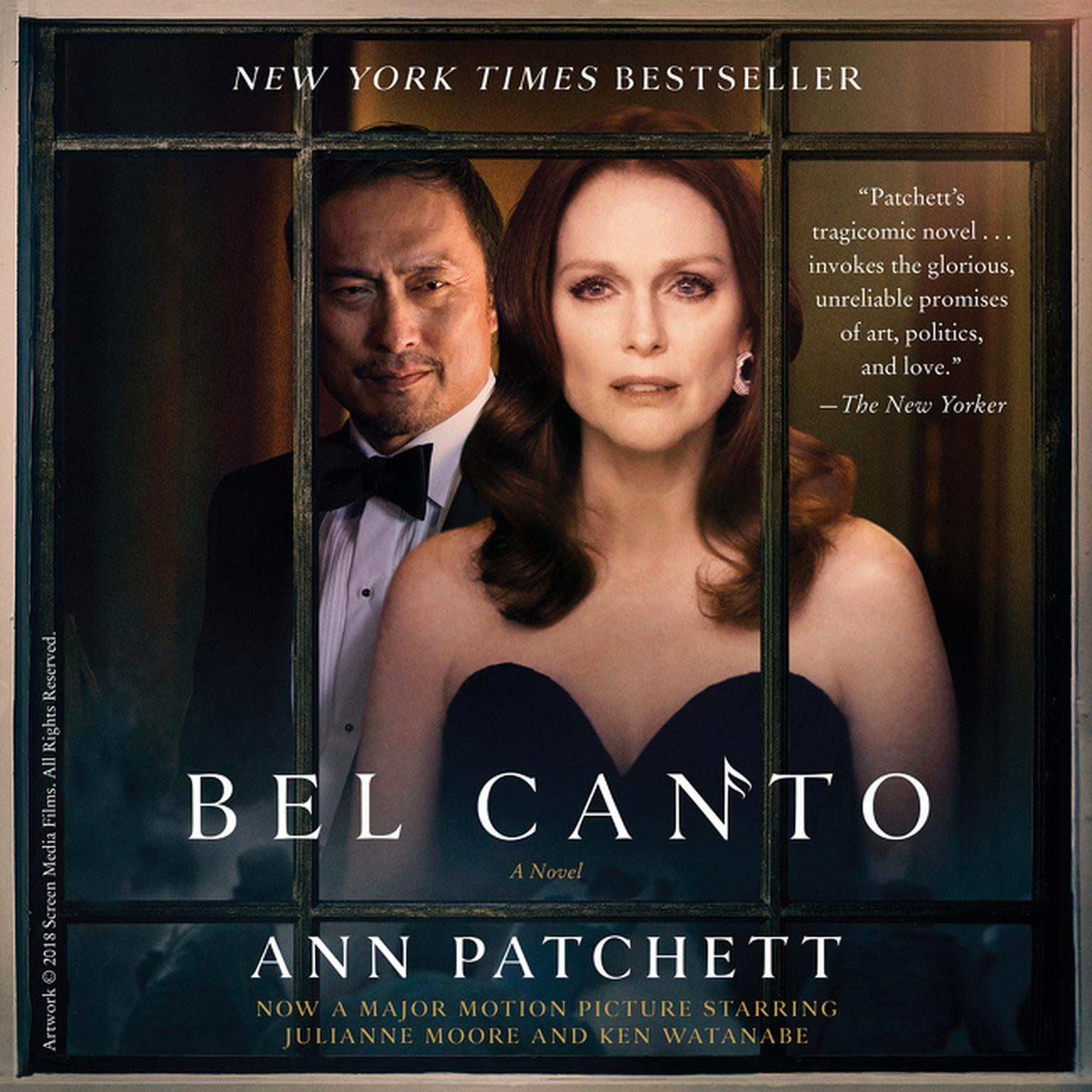 Printable Bel Canto Audiobook Cover Art