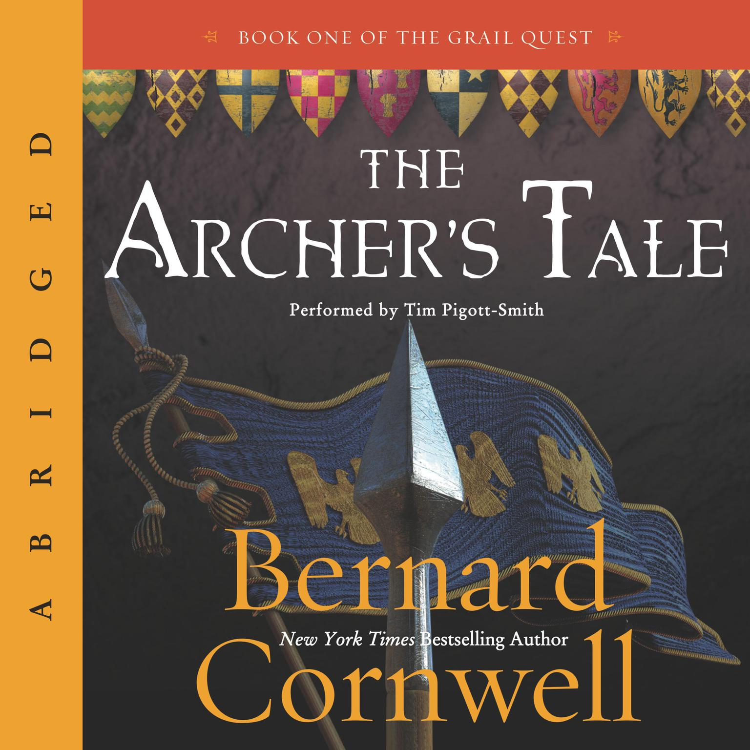 Printable The Archer's Tale Audiobook Cover Art