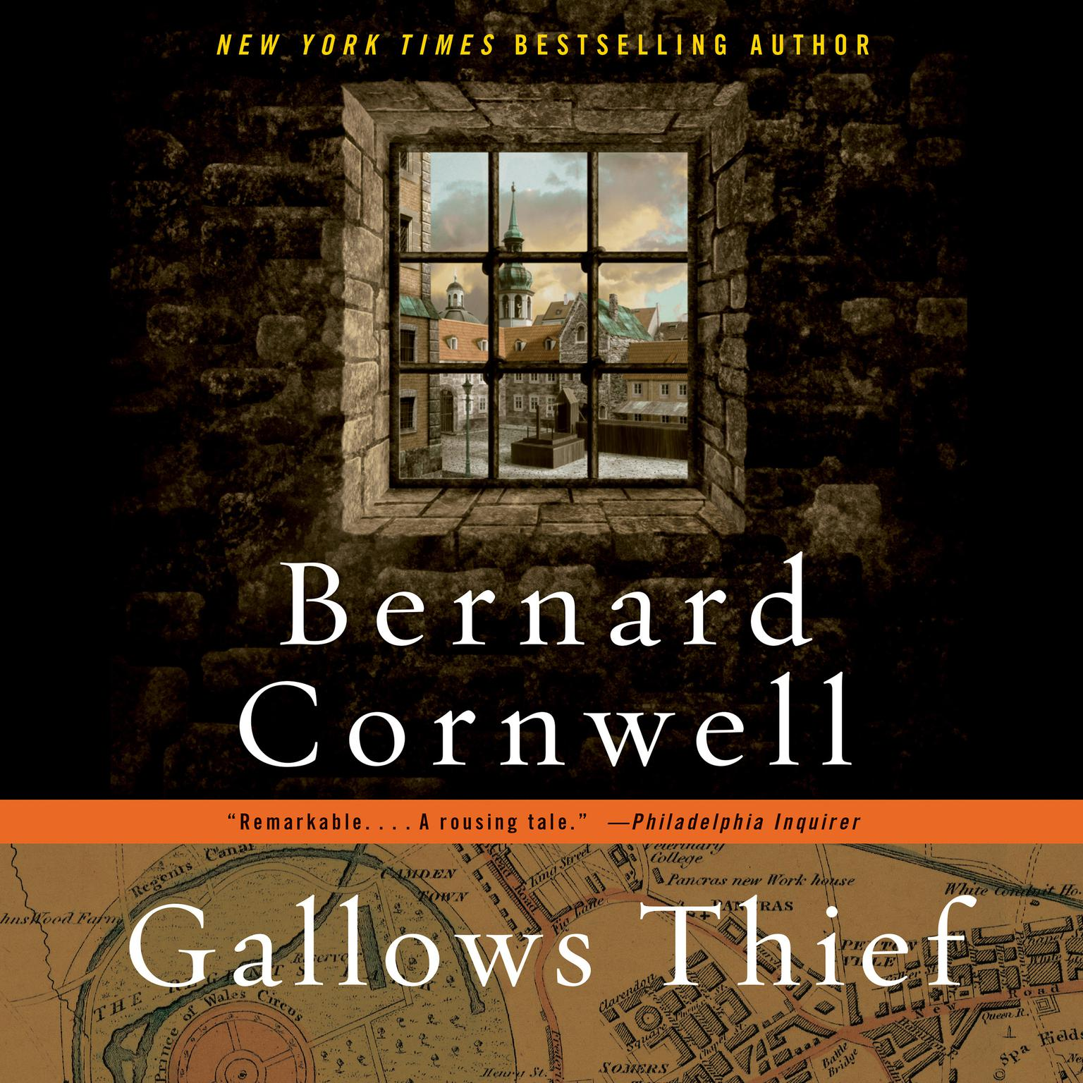 Printable Gallows Thief Audiobook Cover Art