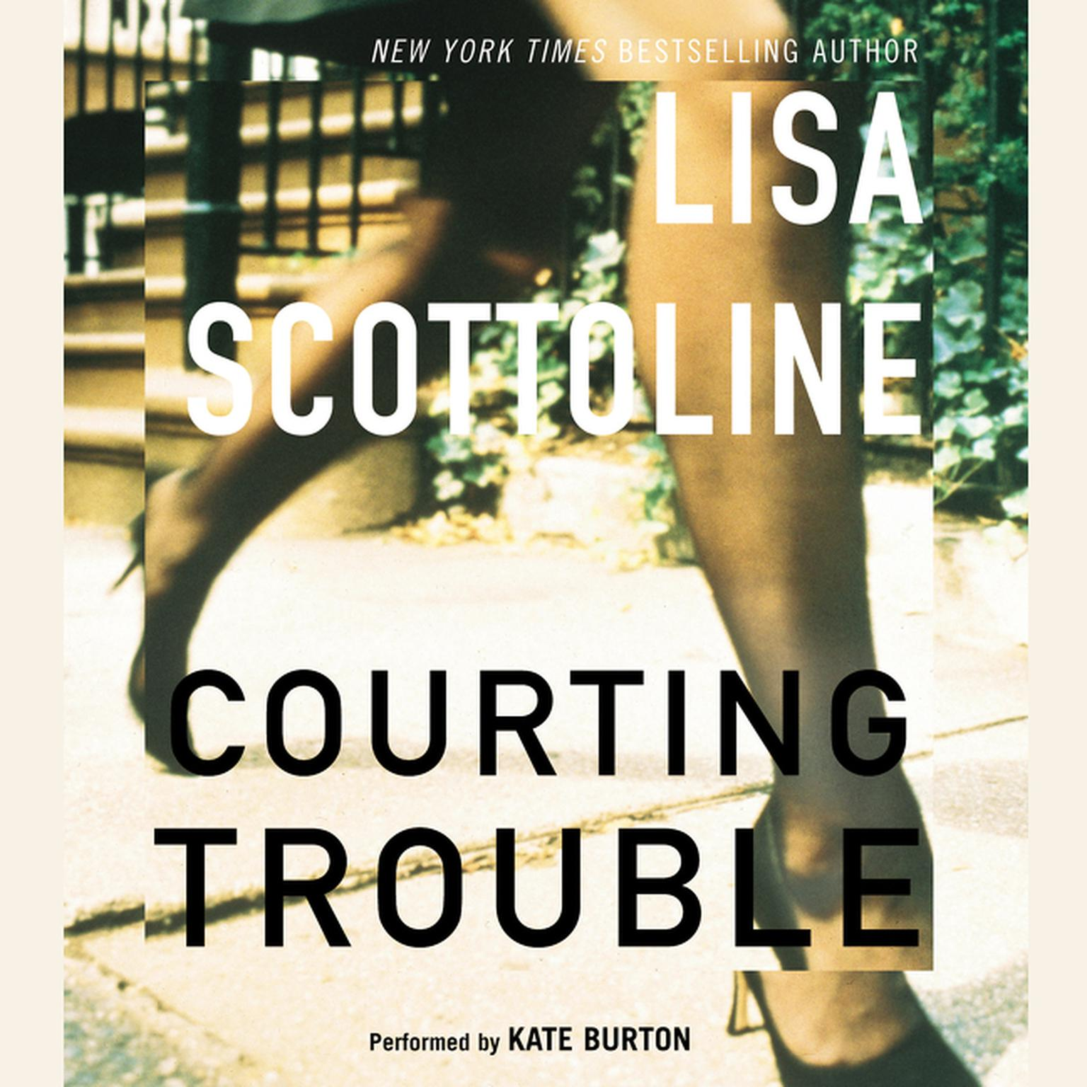 Printable Courting Trouble Audiobook Cover Art