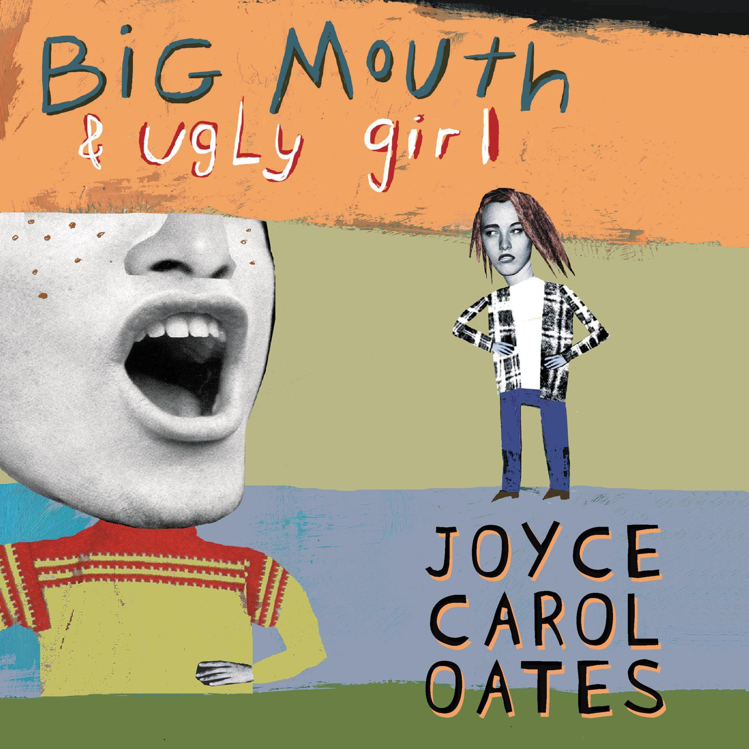 Printable Big Mouth & Ugly Girl Audiobook Cover Art
