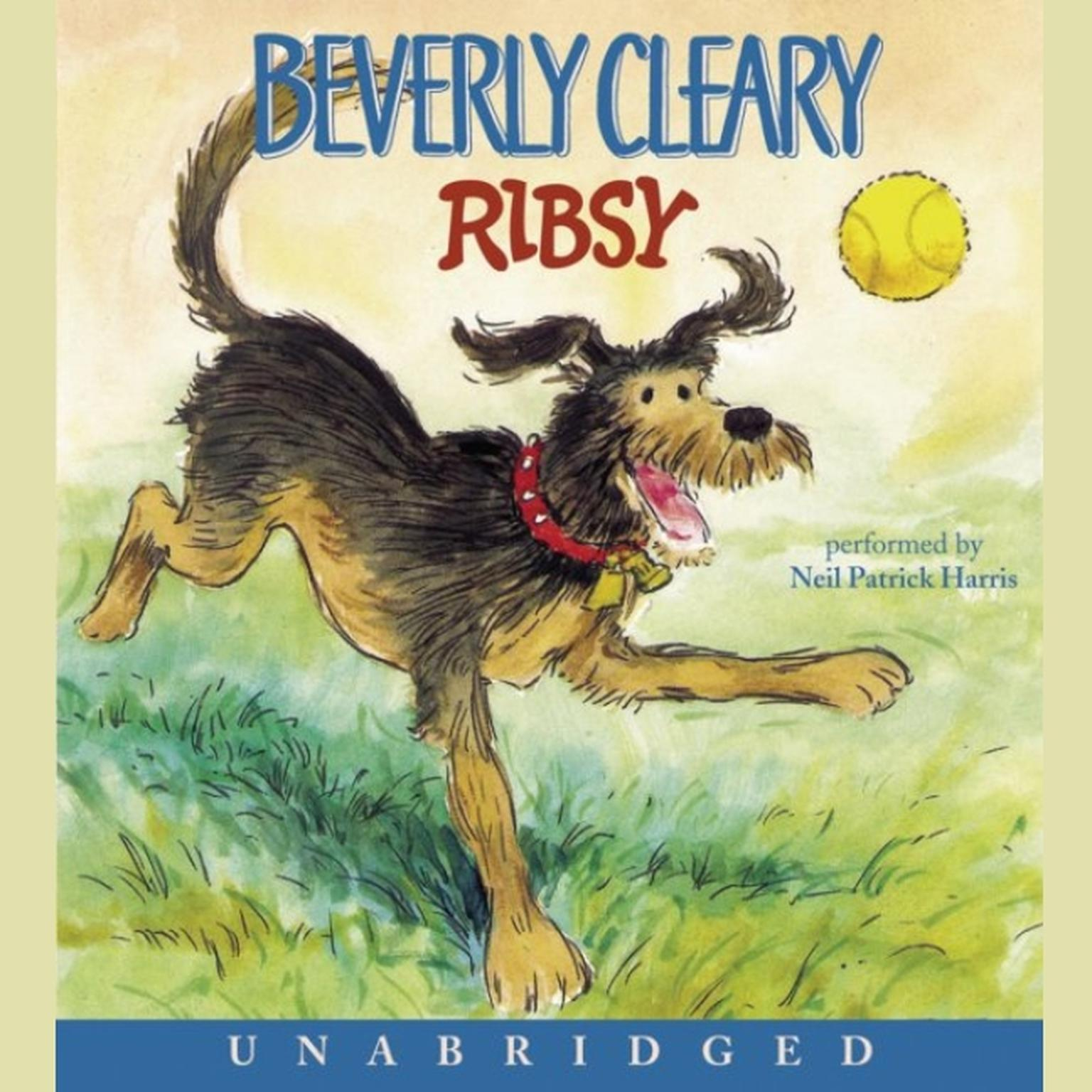 Printable Ribsy Audiobook Cover Art