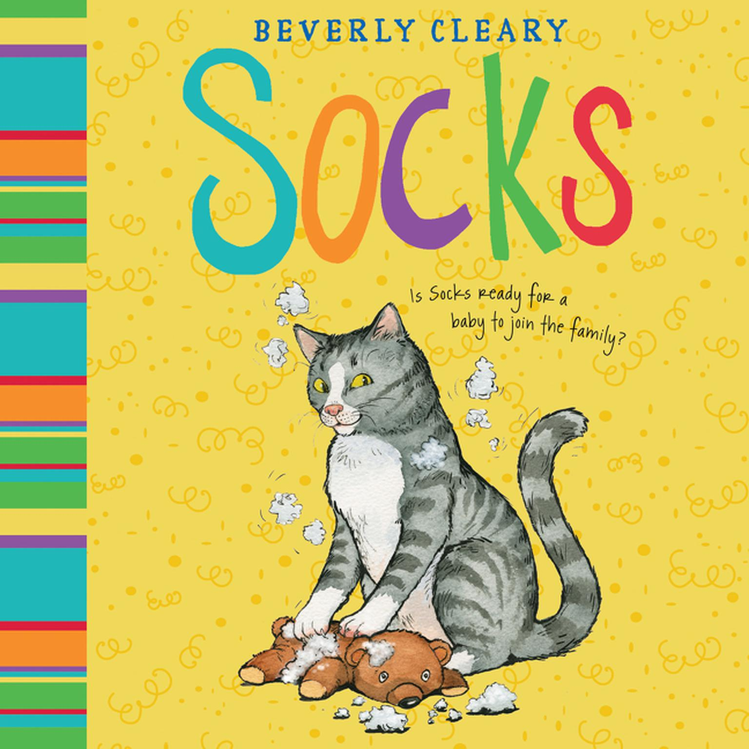 Printable Socks Audiobook Cover Art