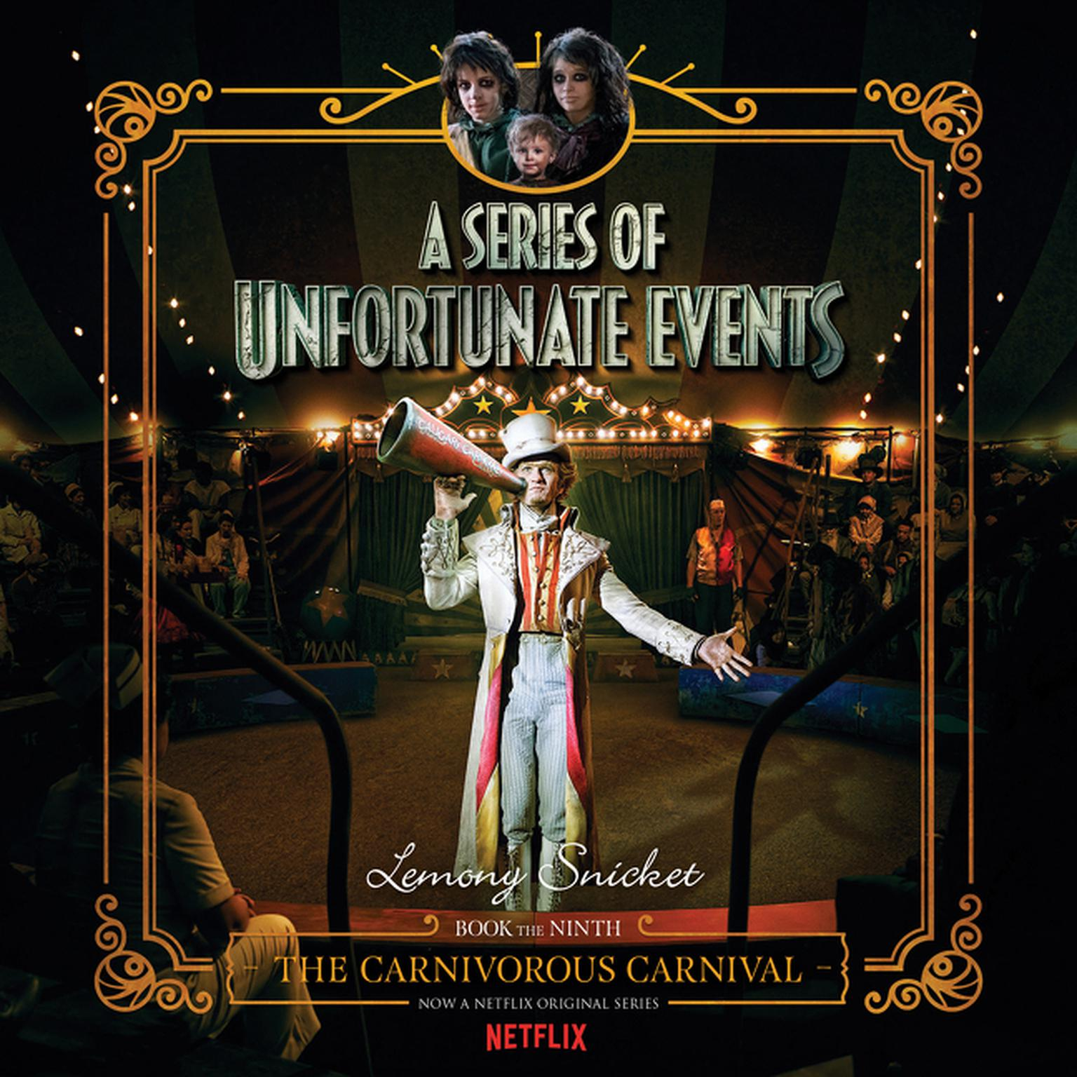 Printable The Carnivorous Carnival Audiobook Cover Art