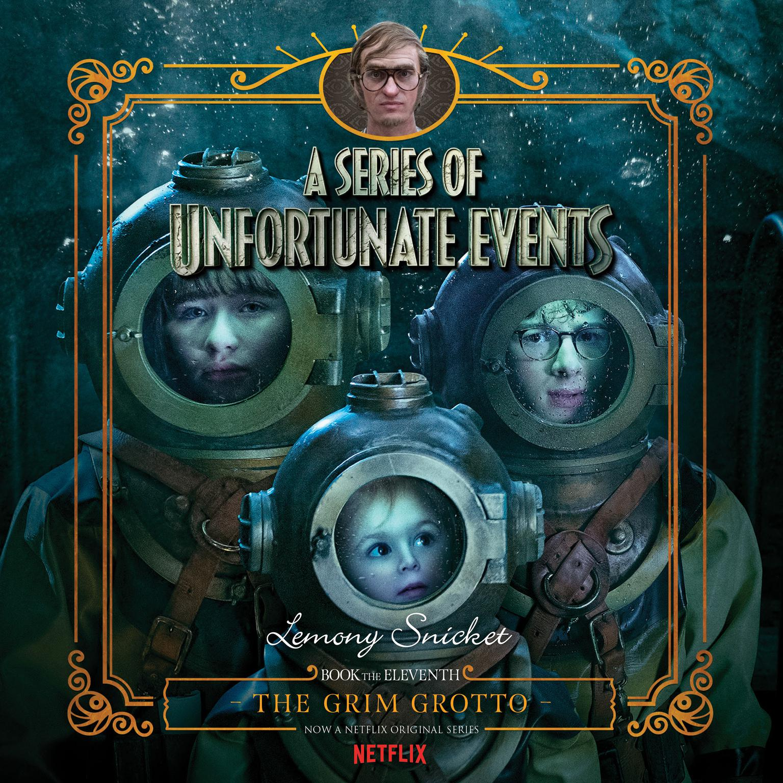 Printable Series of Unfortunate Events #11: The Grim Grotto Audiobook Cover Art