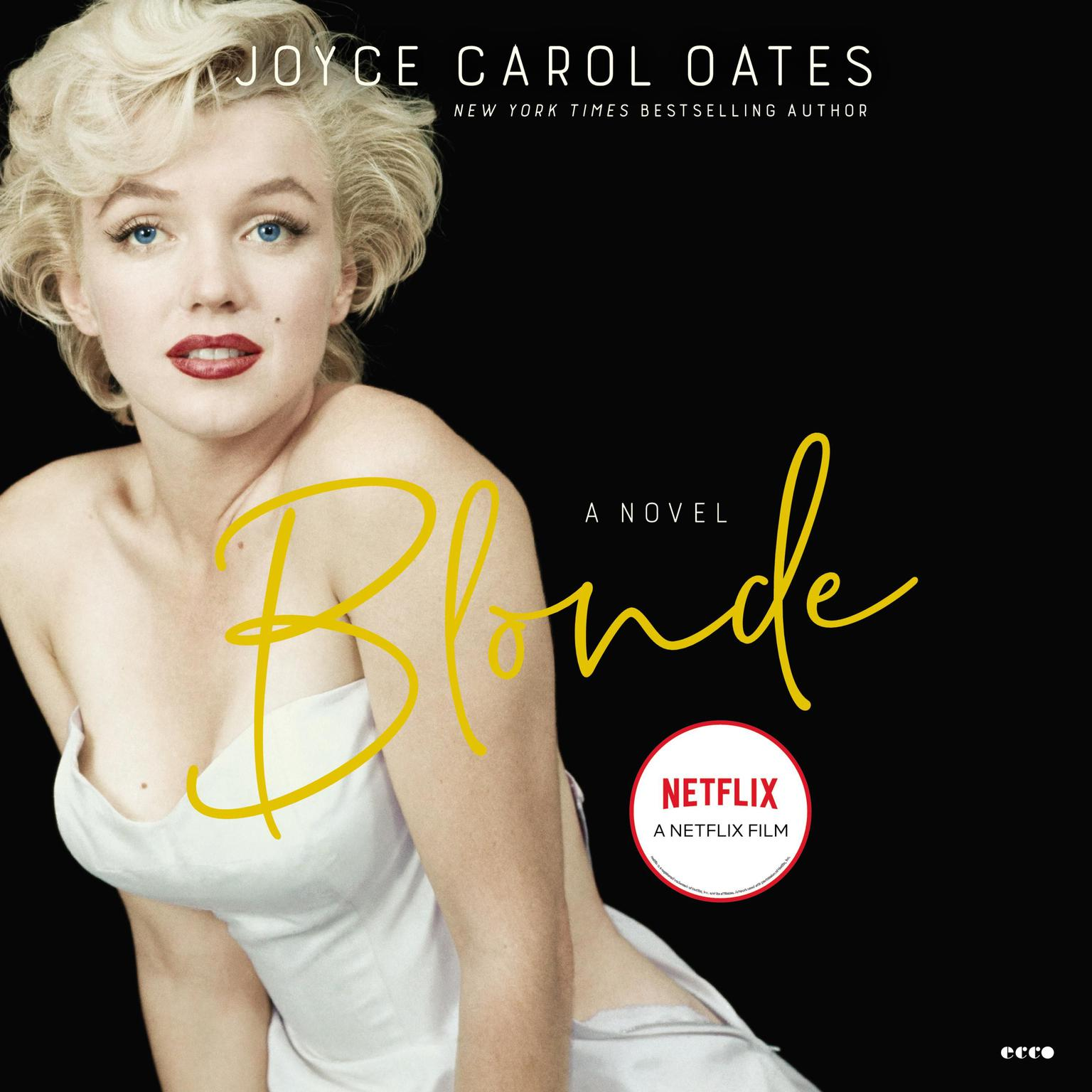 Printable Blonde Audiobook Cover Art