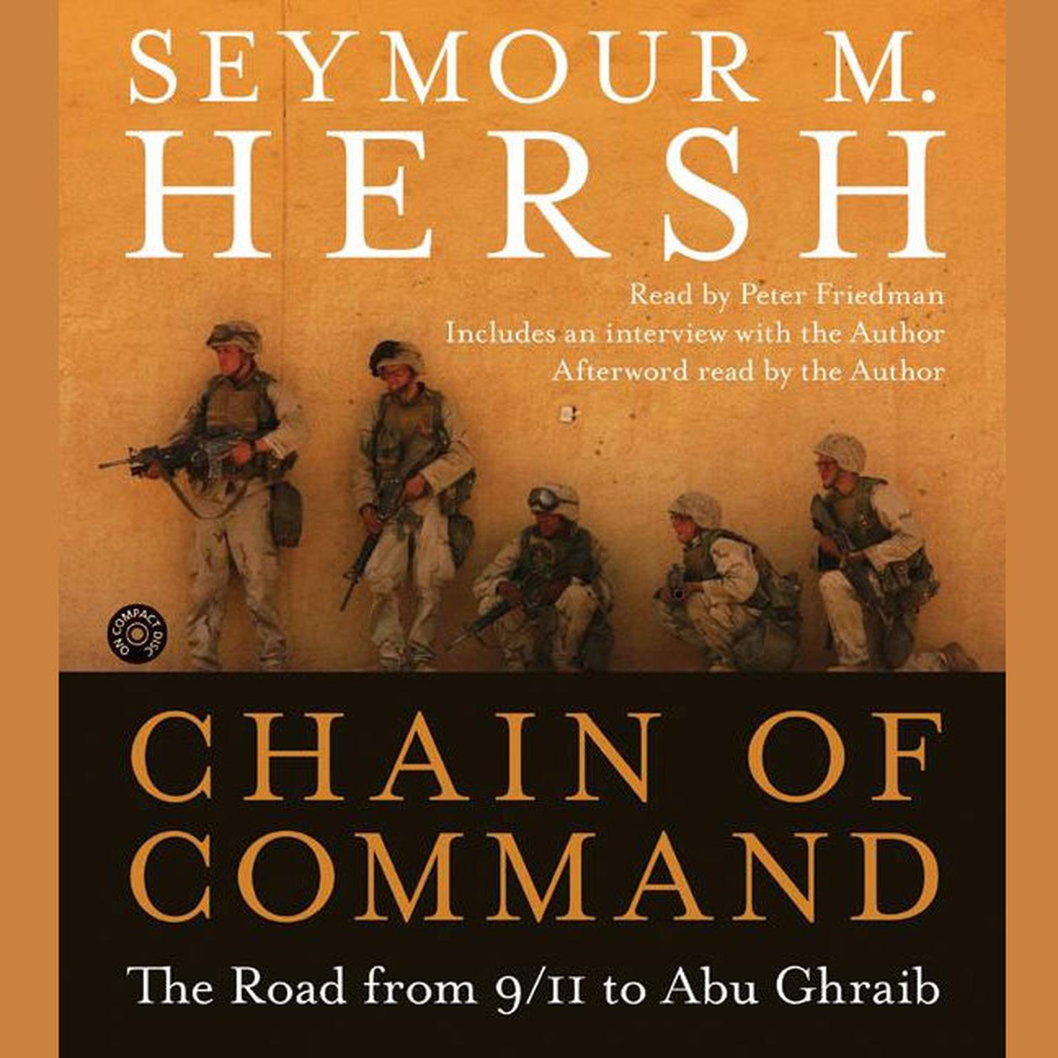 Printable Chain of Command: The Road from 9/11 to Abu Ghraib Audiobook Cover Art