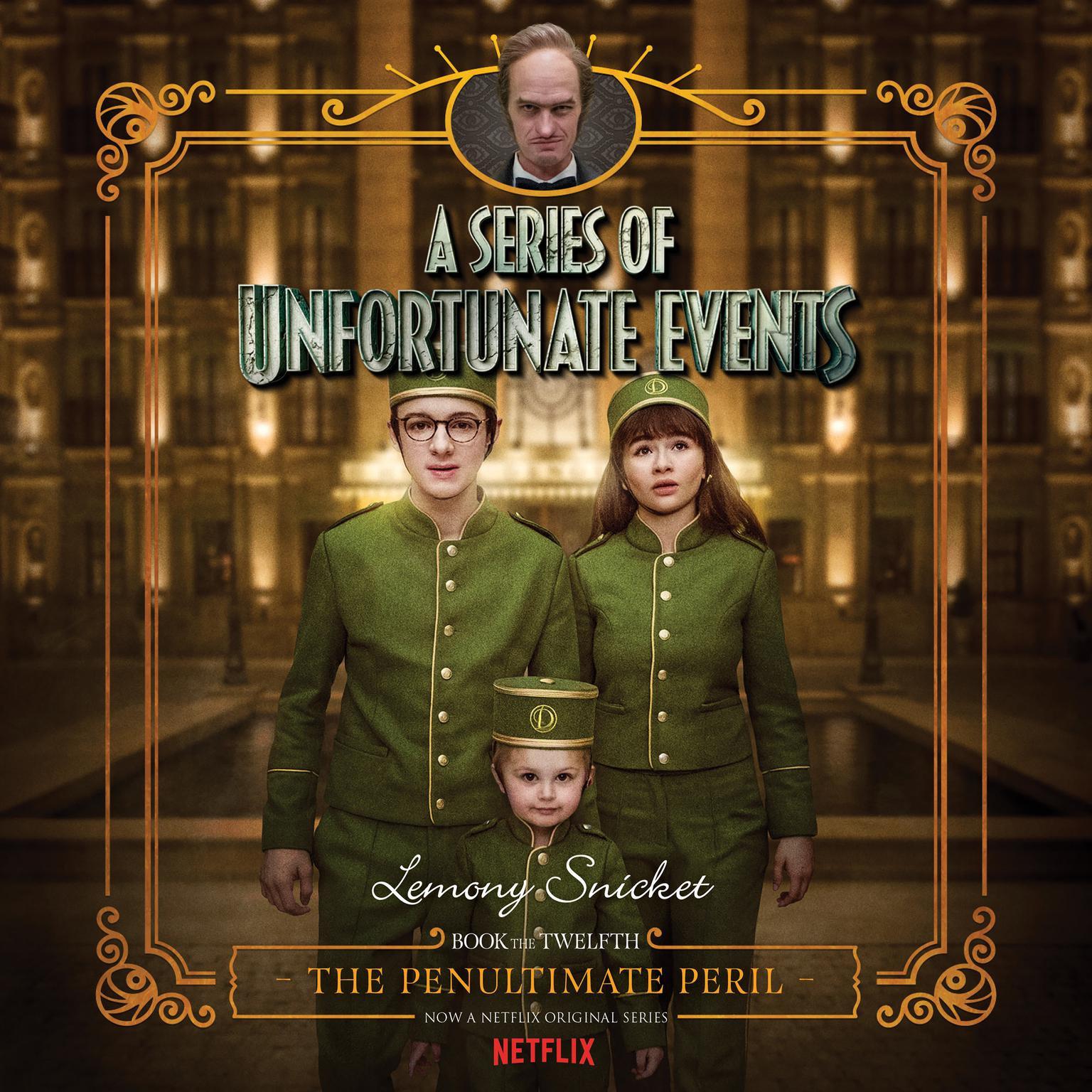 Printable Series of Unfortunate Events #12: The Penultimate Peril Audiobook Cover Art