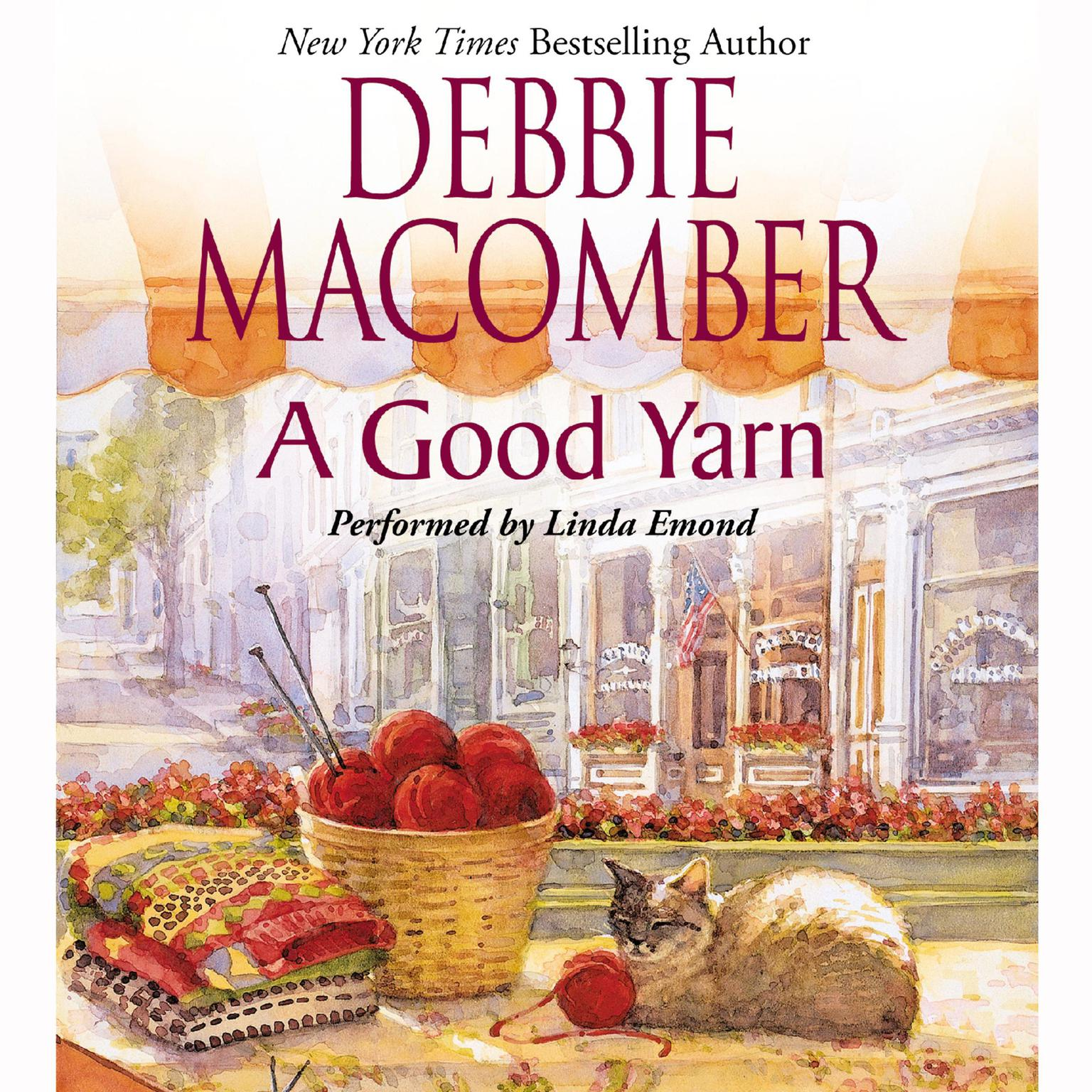Printable A Good Yarn Audiobook Cover Art